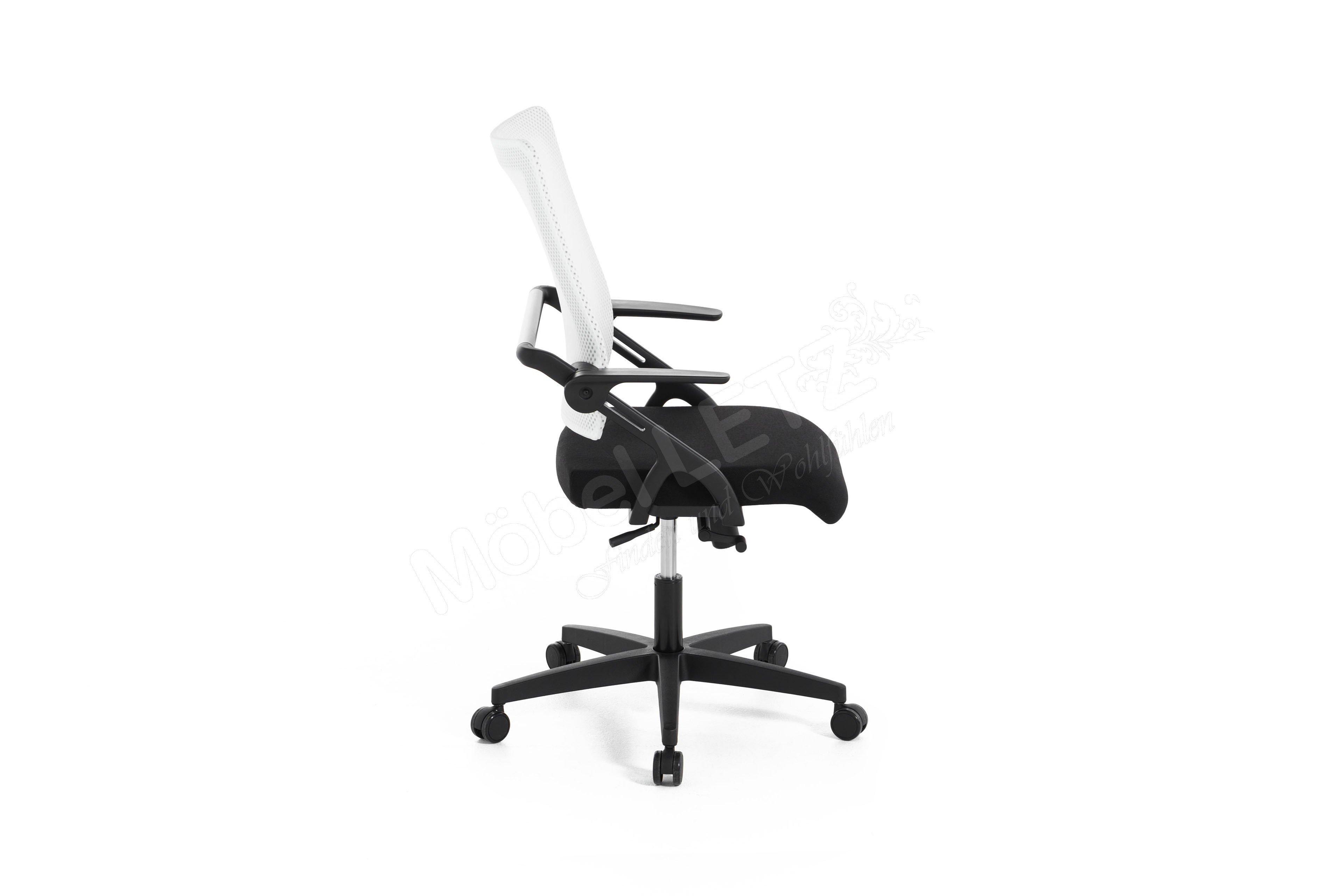 Drehstuhl weiß schwarz  Drehstuhl Linea 35 weiß/ schwarz von Topstar | Möbel Letz - Ihr ...
