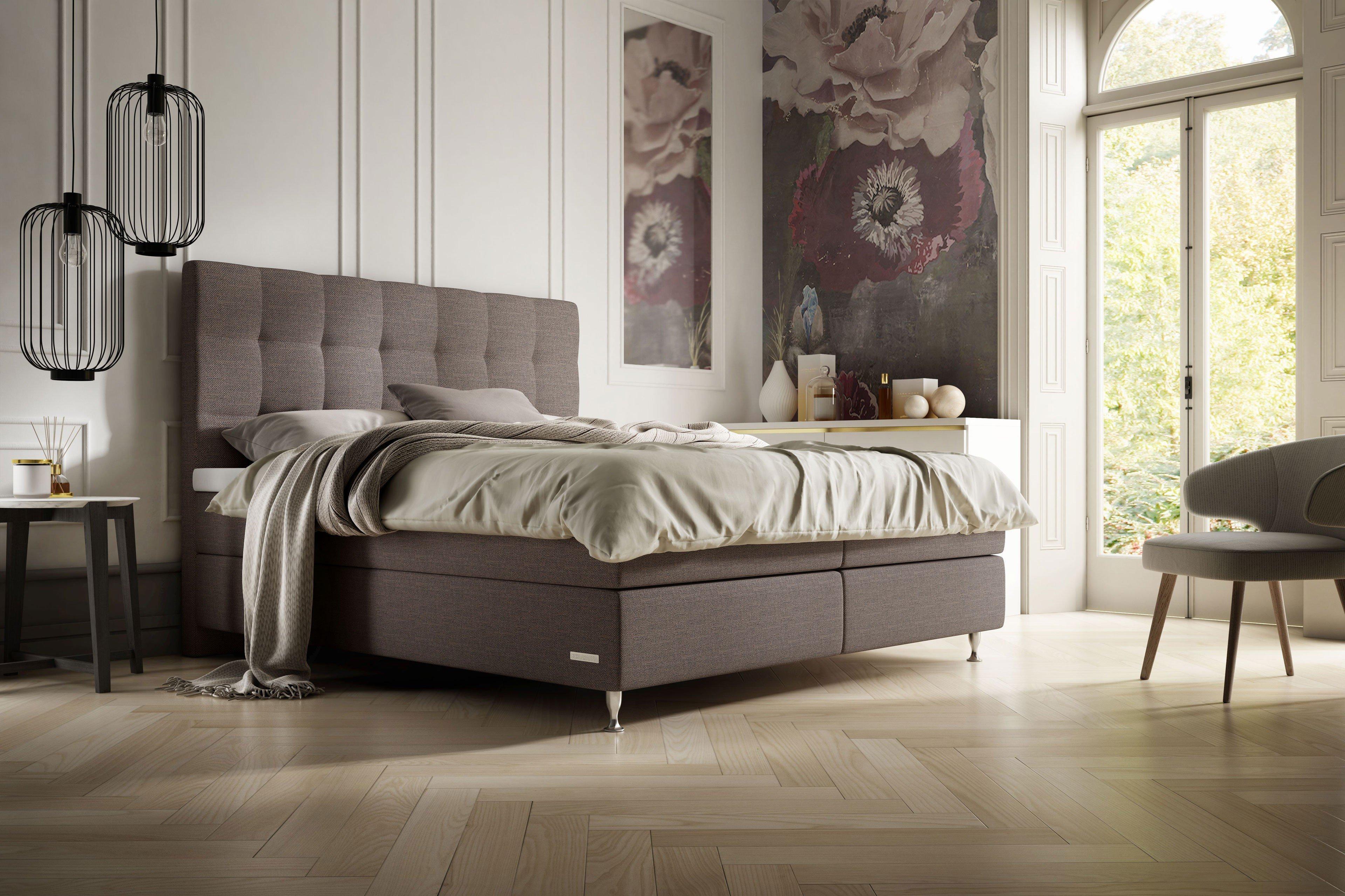 schlaraffia boxspringbett ayda in petrol m bel letz. Black Bedroom Furniture Sets. Home Design Ideas