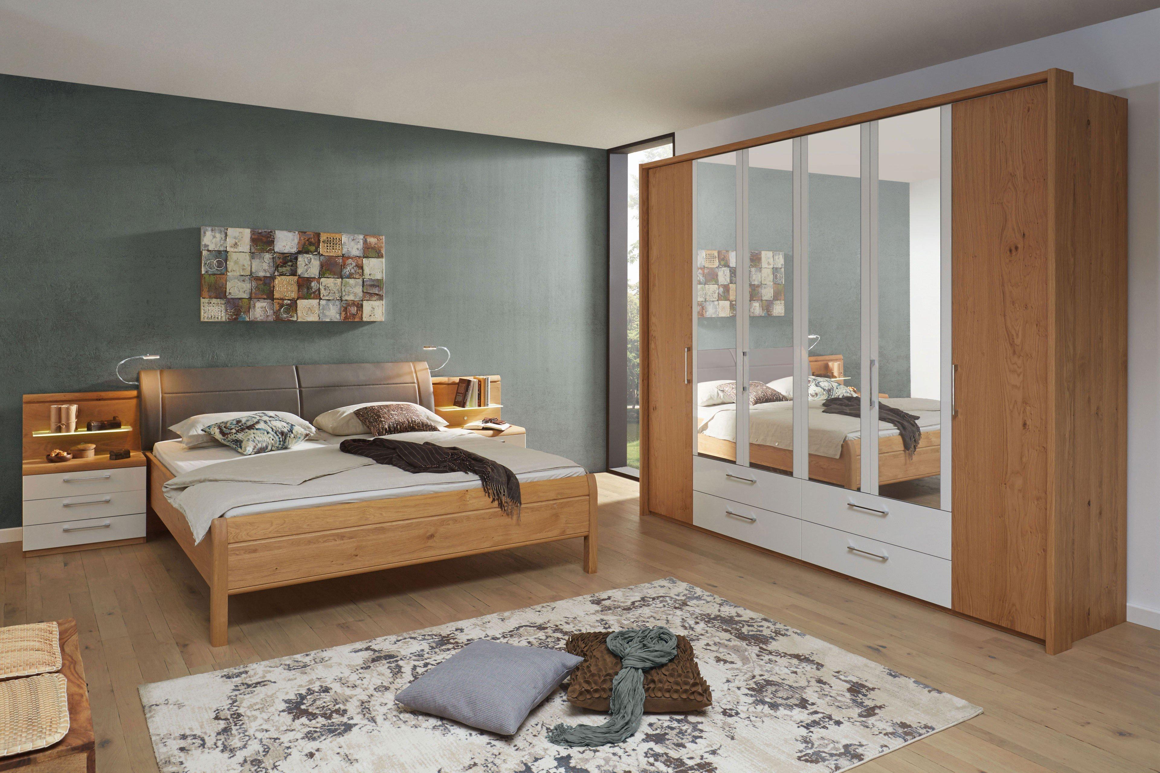 Einfache Dekoration Und Mobel Schlafzimmer Online Zusammenstellen #15: Comfort-V Von Disselkamp - Schlafzimmer Luxushöhe Wildeiche