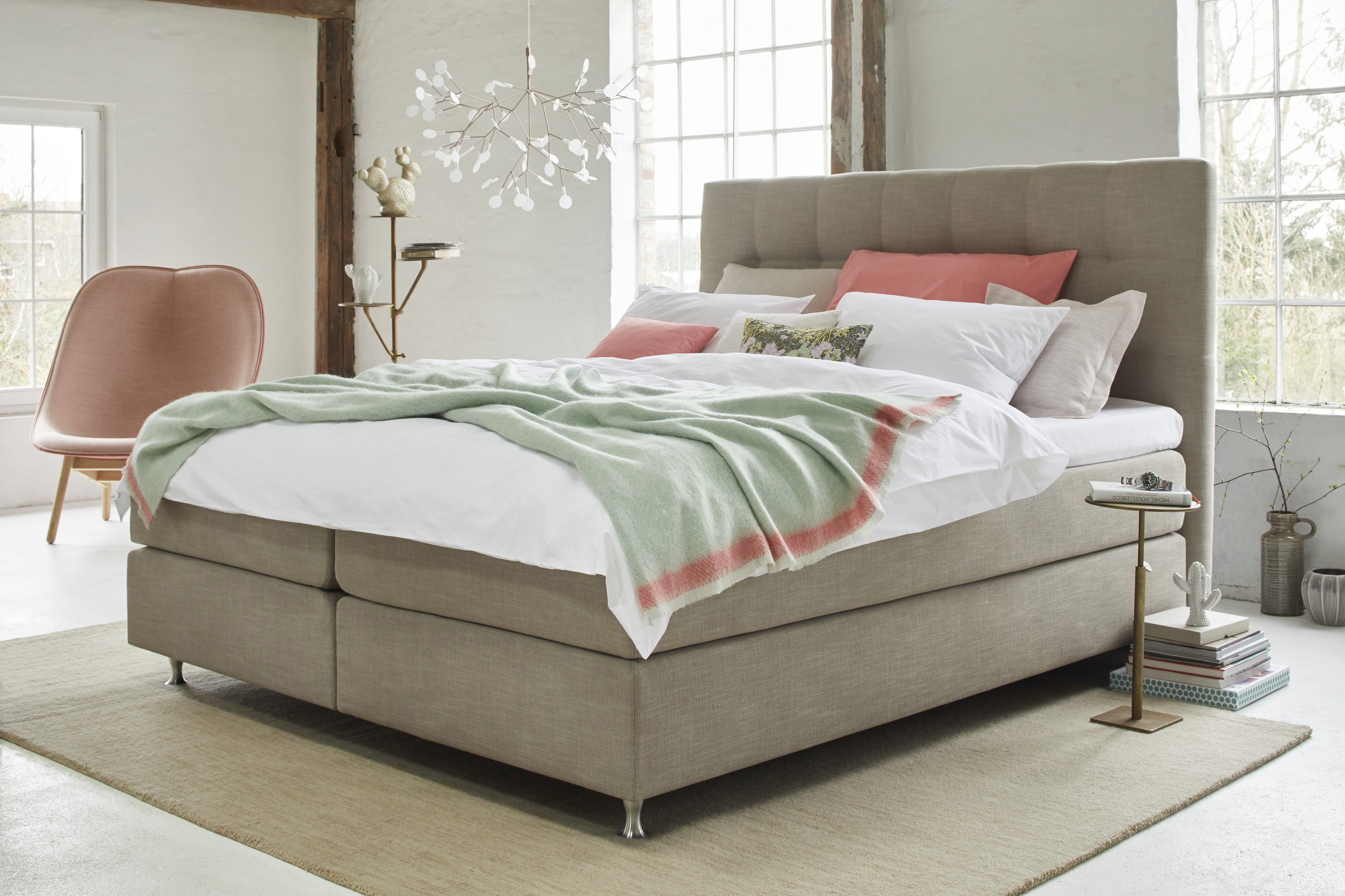 boxspringbett ayda von schlaraffia in sand m bel letz ihr online shop. Black Bedroom Furniture Sets. Home Design Ideas