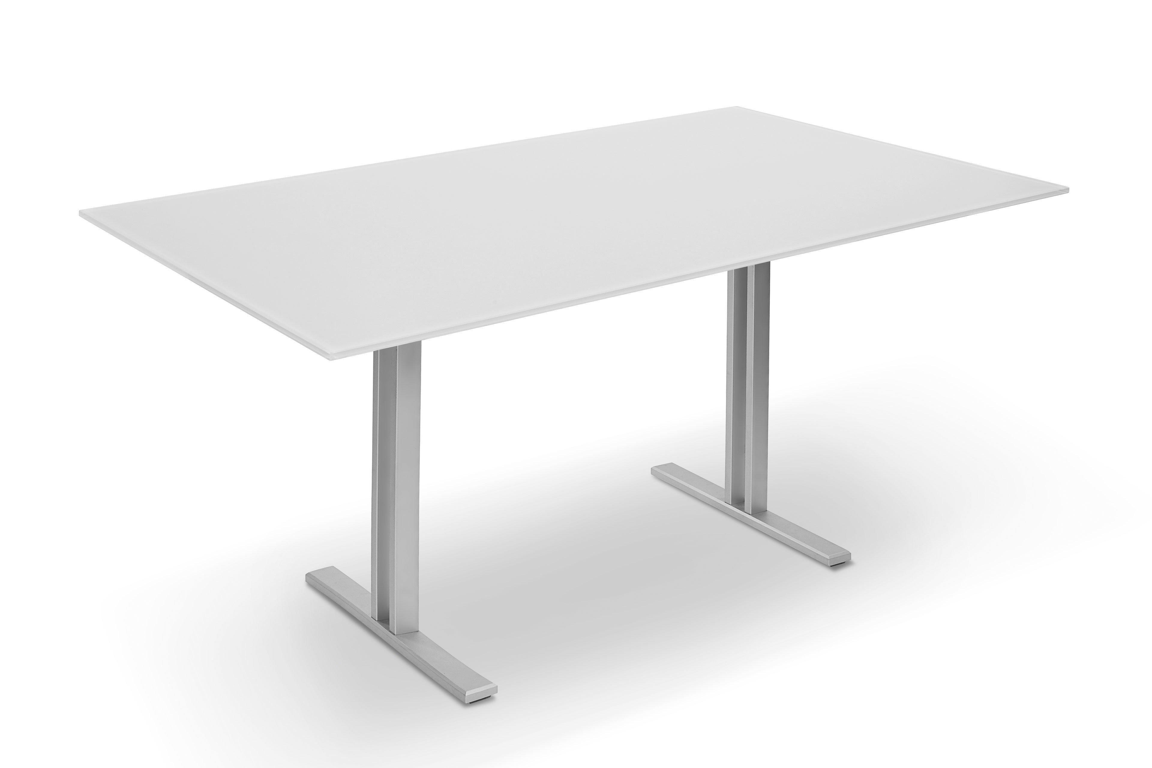 esstisch maxi p 4810 e glas reinwei von ronald schmitt m bel letz ihr online shop. Black Bedroom Furniture Sets. Home Design Ideas