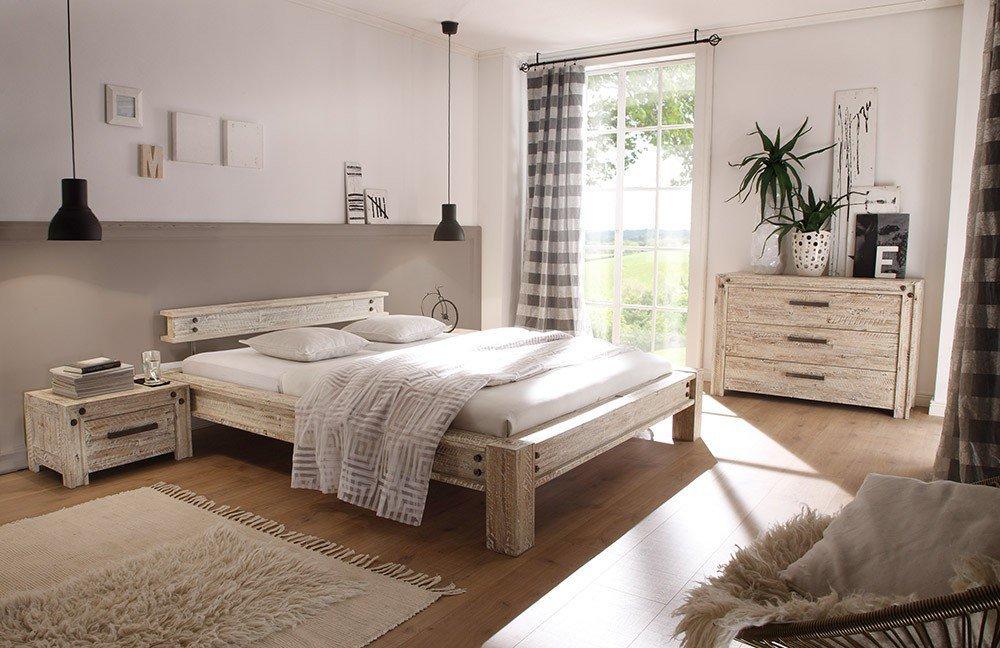 hasena san diego bett akazie vintage grey m bel letz. Black Bedroom Furniture Sets. Home Design Ideas