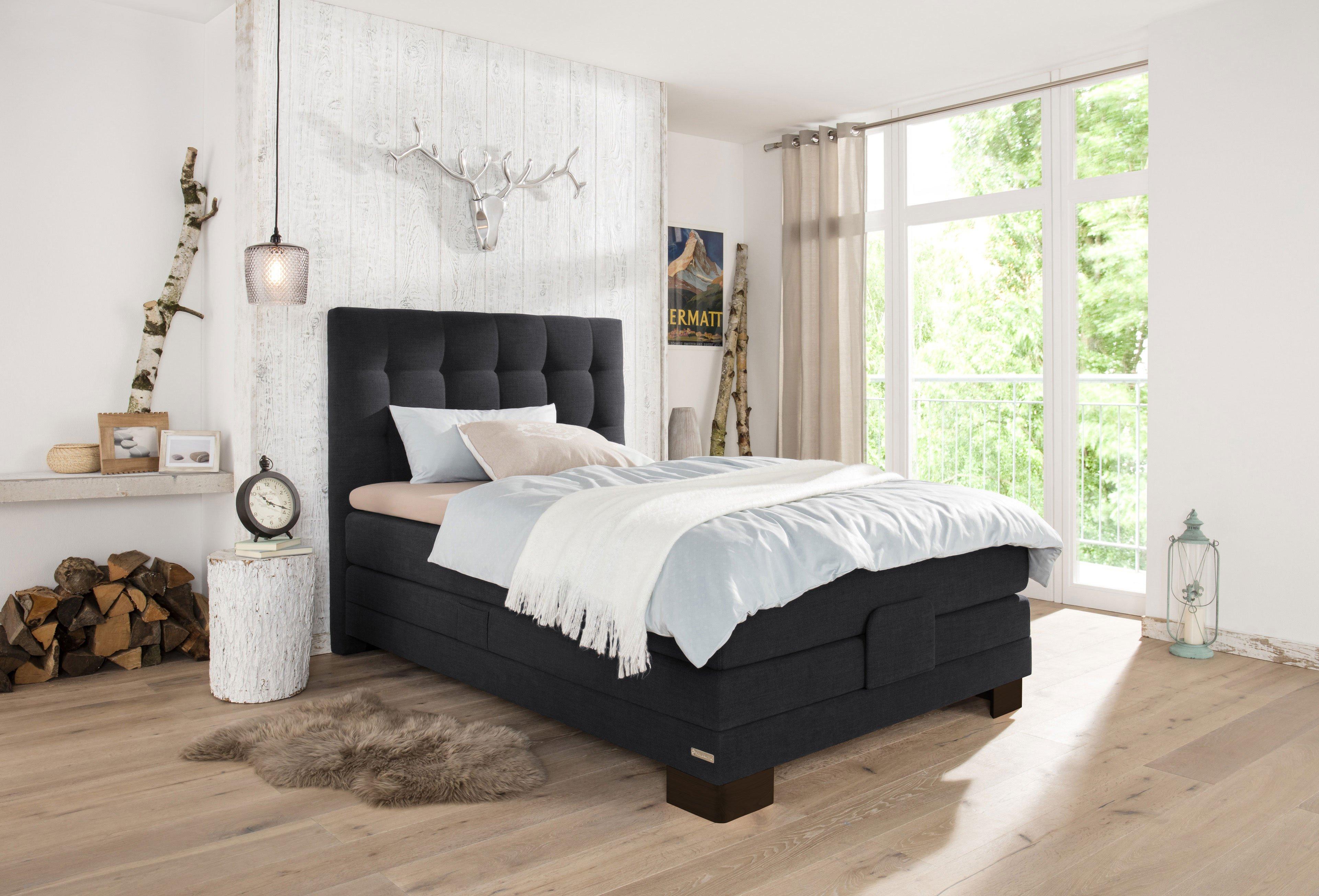 basic boxspringbett ayda von schlaraffia in chocolate mit motor m bel letz ihr online shop. Black Bedroom Furniture Sets. Home Design Ideas