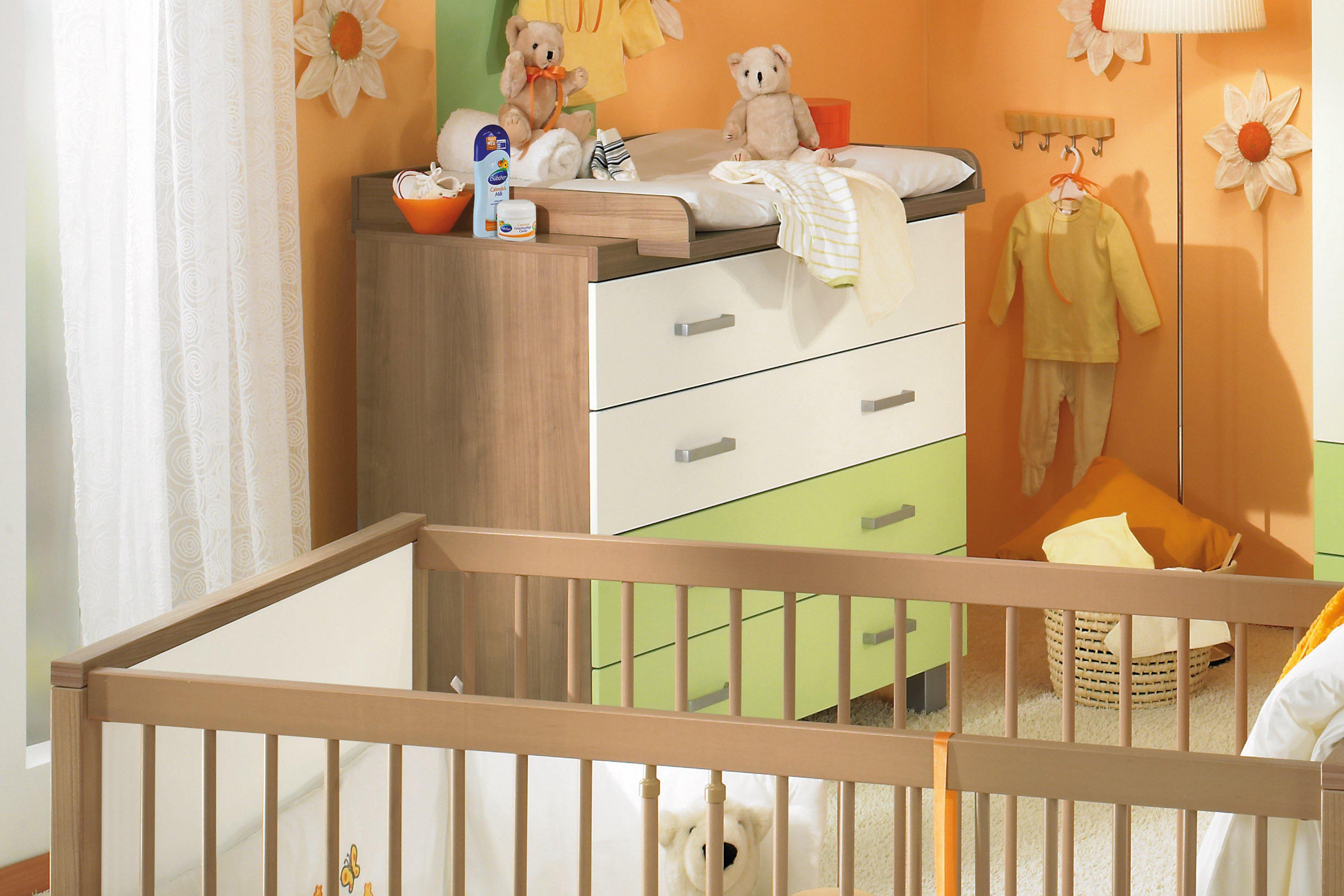 paidi leo komplett babyzimmer 4 teilig gr n m bel letz. Black Bedroom Furniture Sets. Home Design Ideas