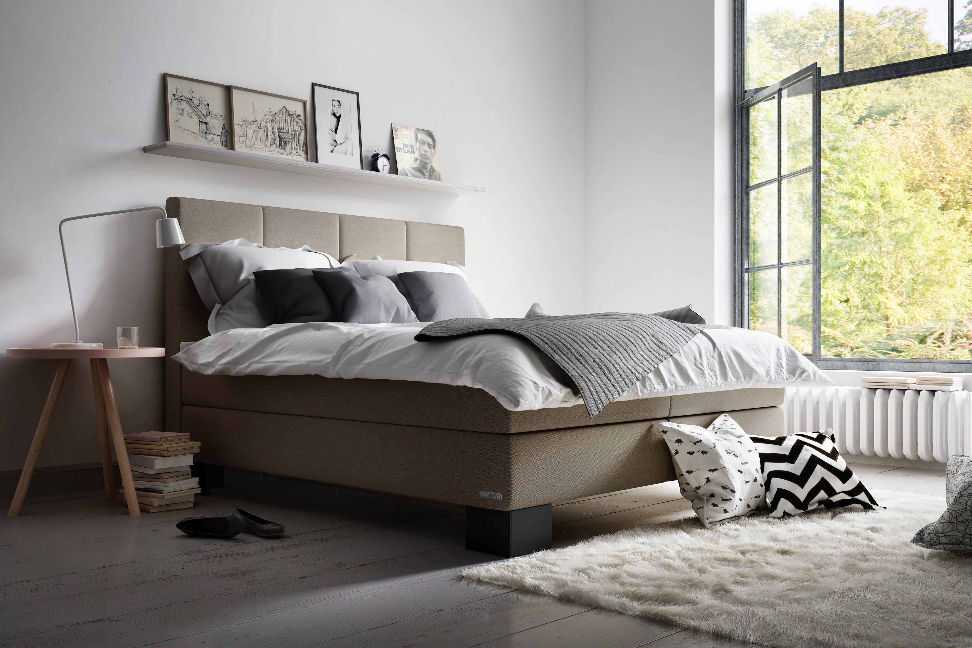 boxspringbett sagas von schlaraffia in sand m bel letz ihr online shop. Black Bedroom Furniture Sets. Home Design Ideas