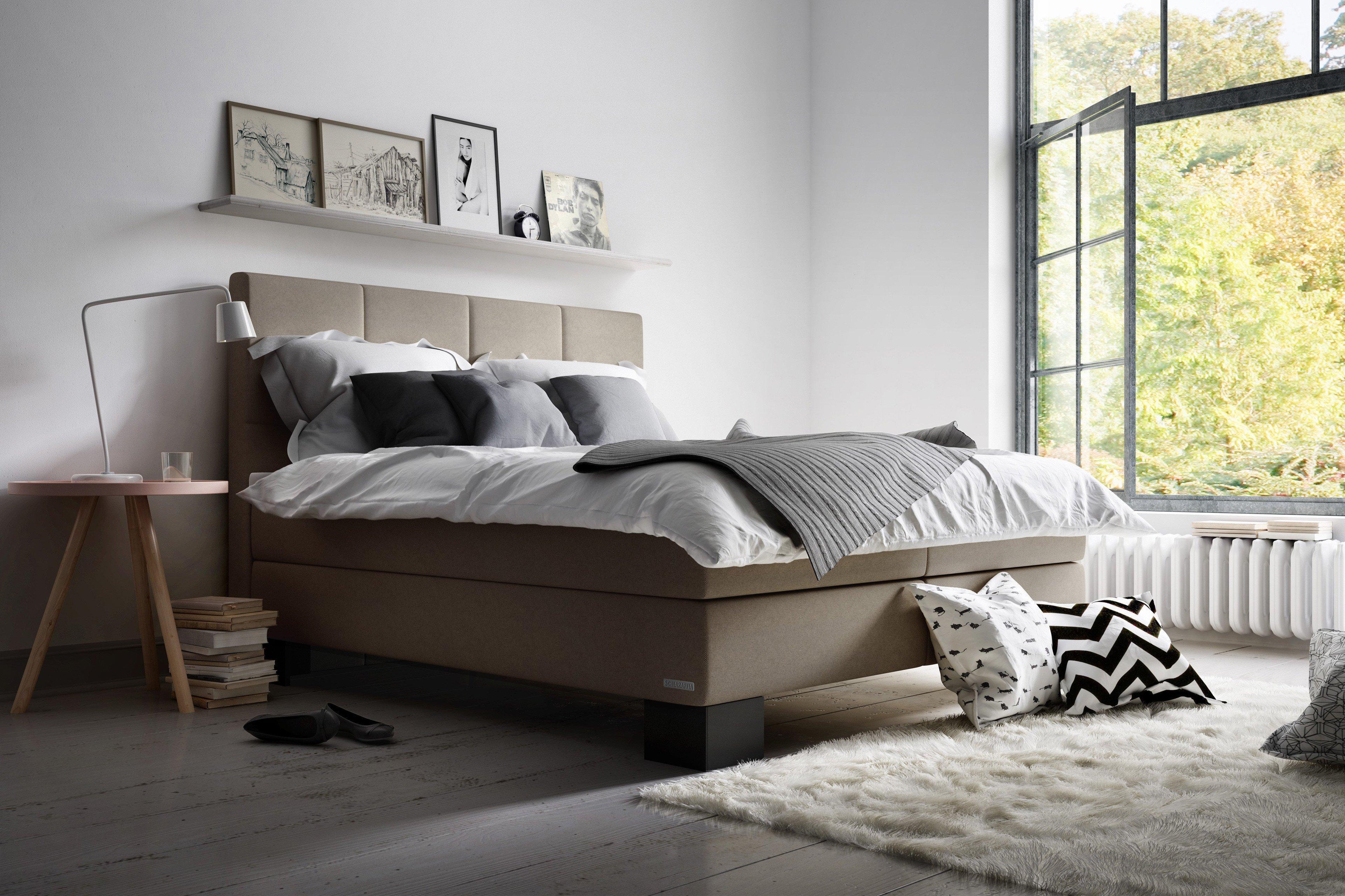 boxspringbett sagas von schlaraffia in sand m bel letz. Black Bedroom Furniture Sets. Home Design Ideas