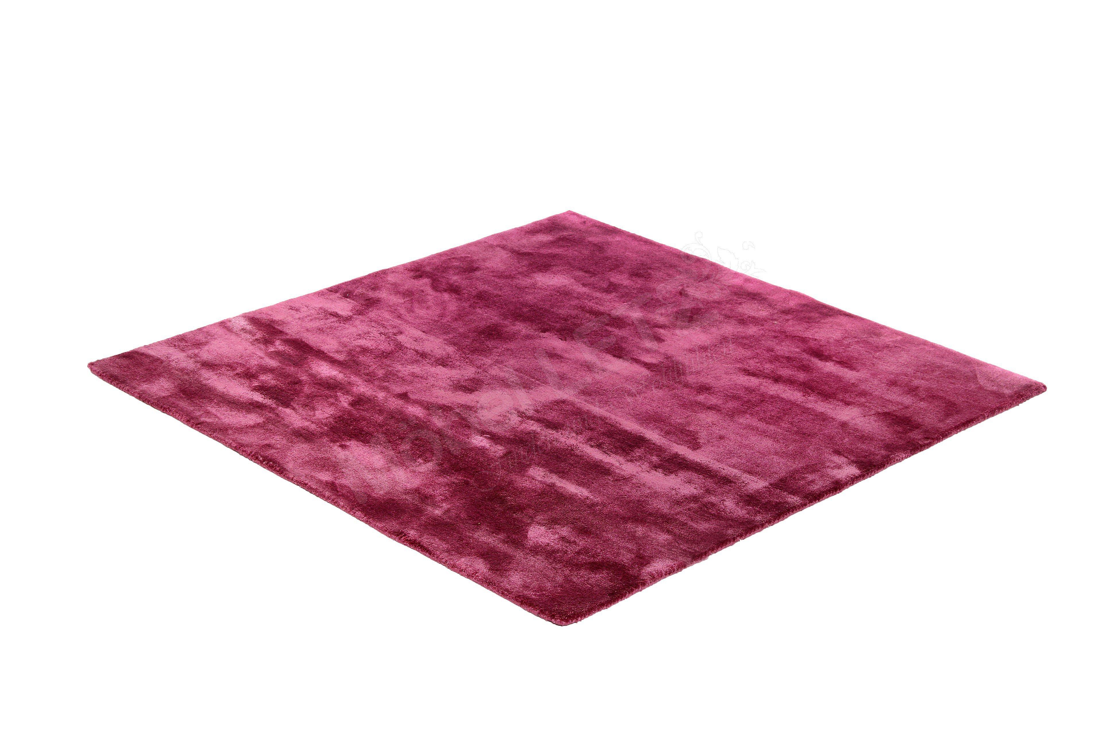 Bretz Viscose Solid Design Teppich In Violett Möbel Letz Ihr
