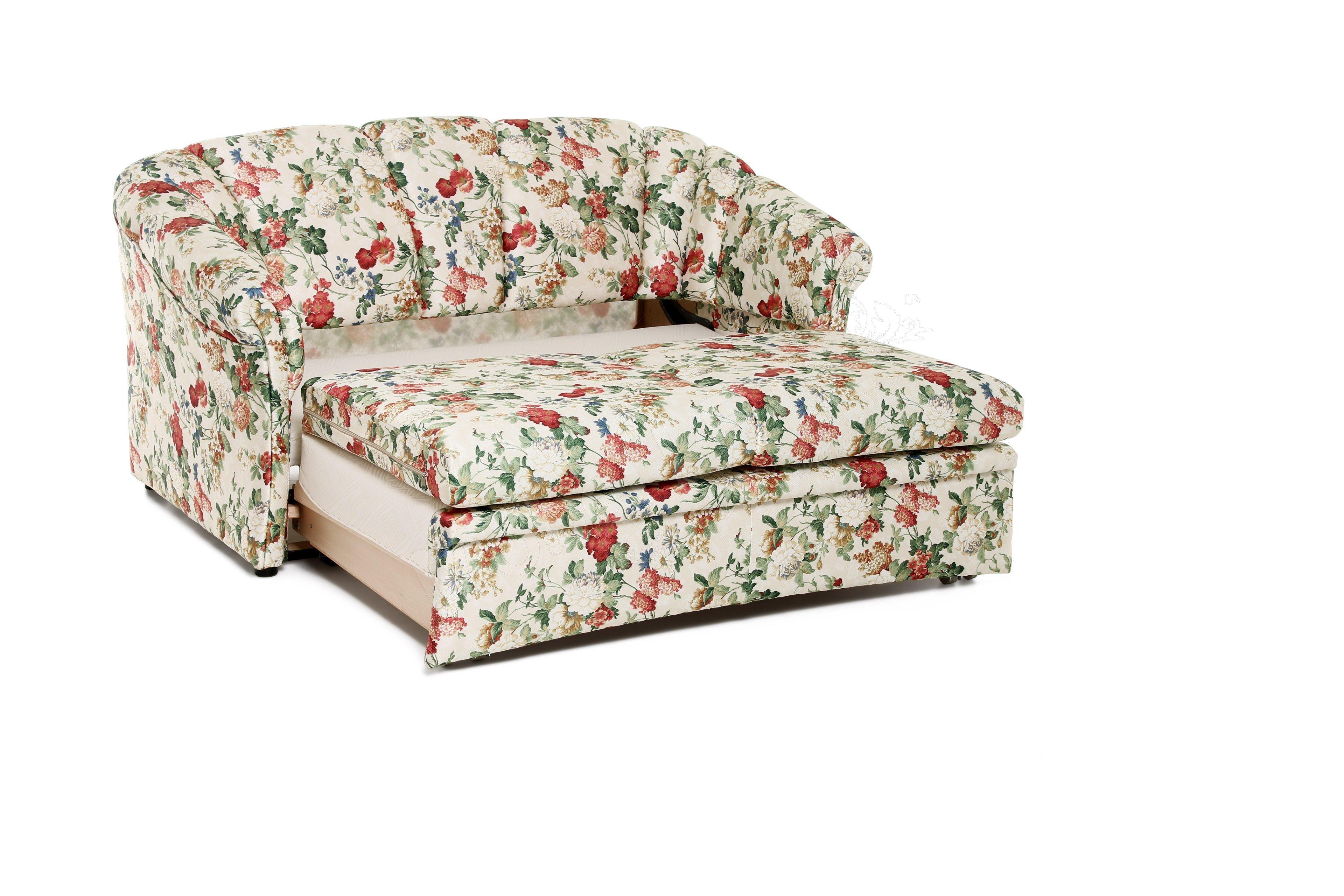 restyl schlafsofa anke mit bezauberndem blumenmuster l. Black Bedroom Furniture Sets. Home Design Ideas