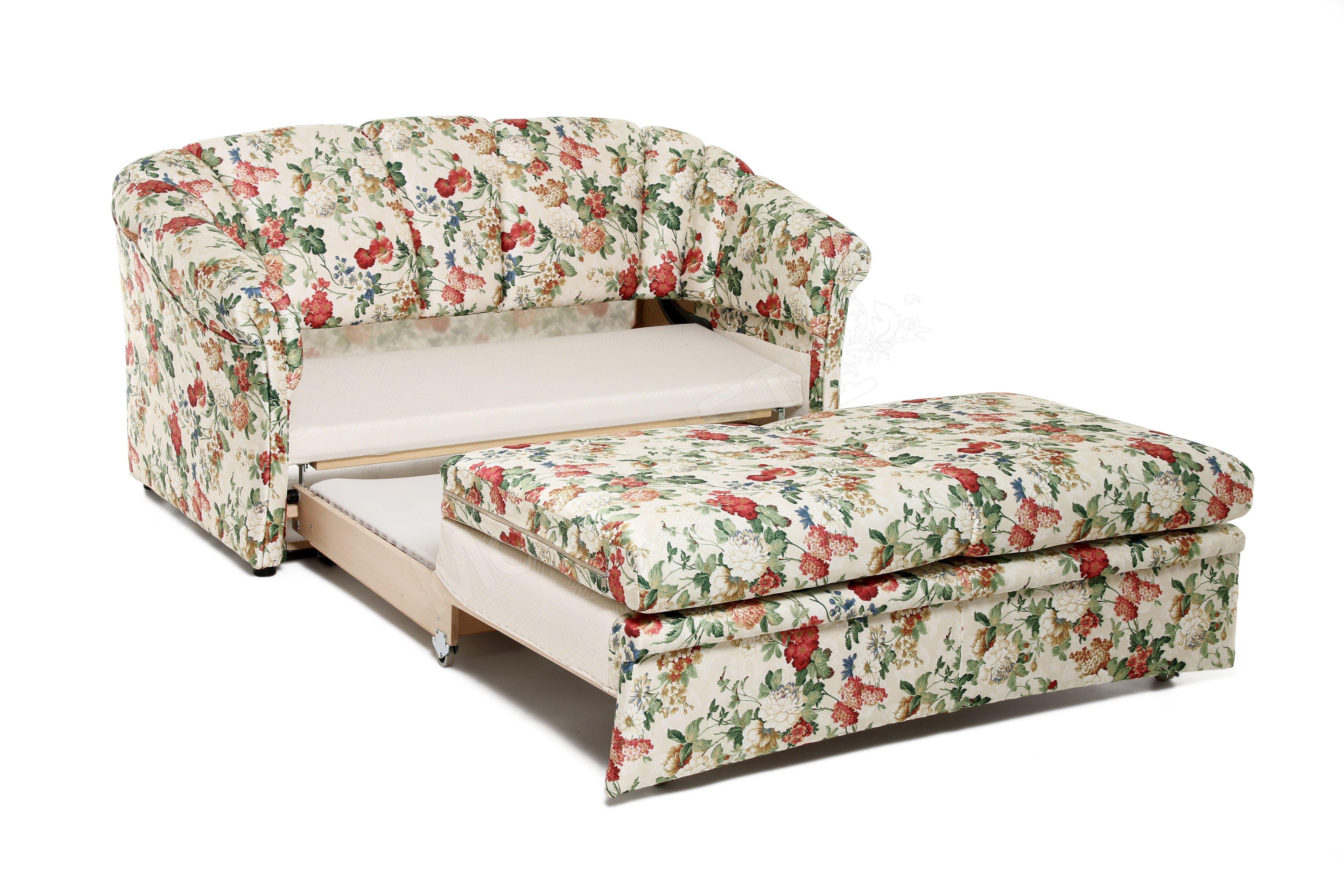 restyl schlafsofa anke mit bezauberndem blumenmuster m bel letz ihr online shop. Black Bedroom Furniture Sets. Home Design Ideas