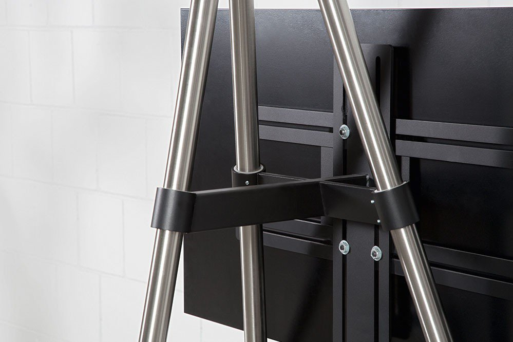 wissmann tv halter tripod art130 edelstahl m bel letz. Black Bedroom Furniture Sets. Home Design Ideas
