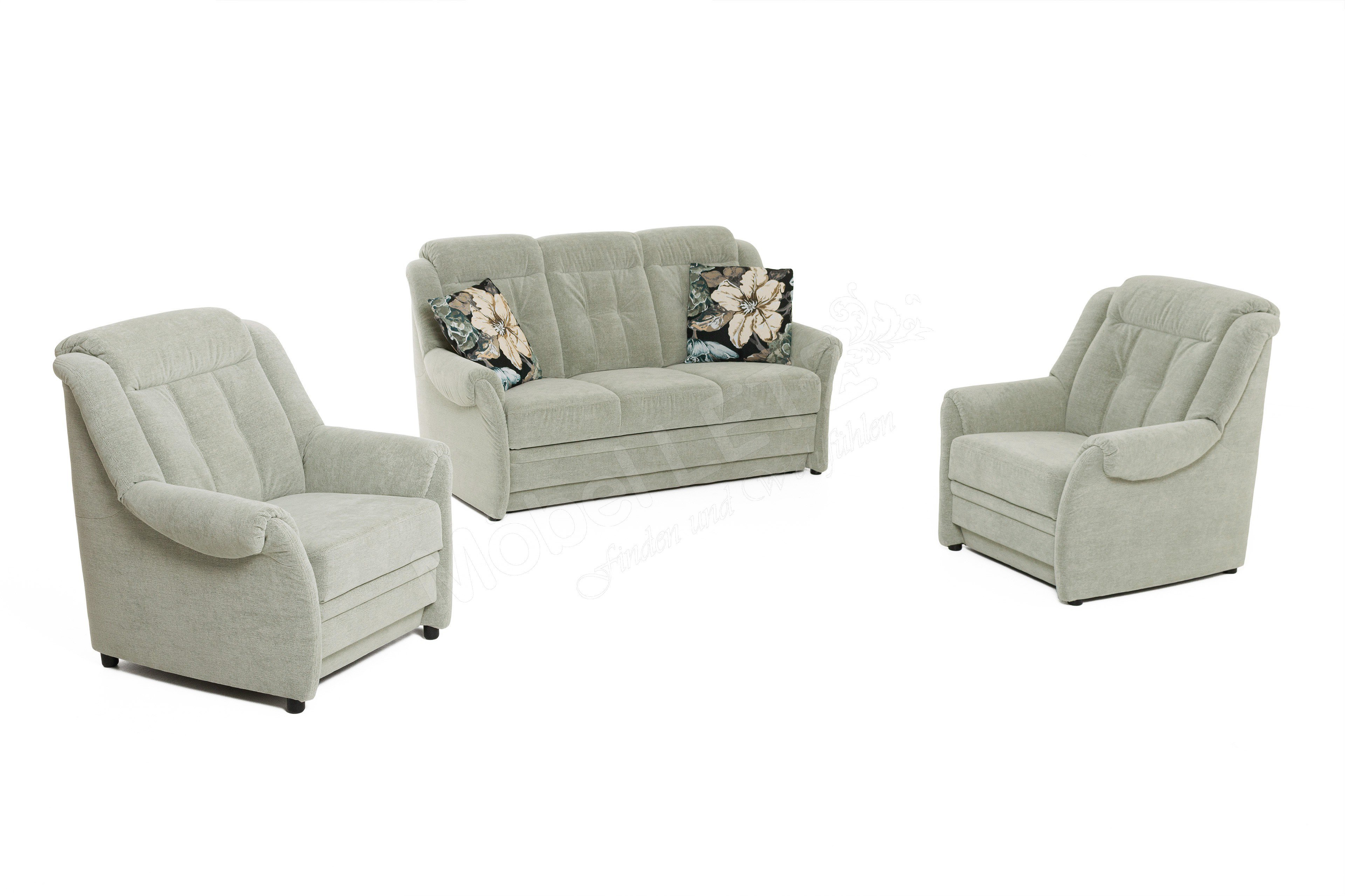 PM Oelsa Andorra Sofagruppe in Mint | Möbel Letz - Ihr Online-Shop