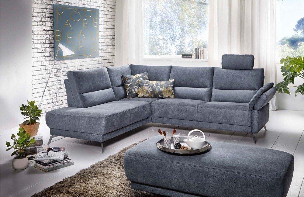 f s polsterm bel 295 esprit polstergarnitur in blau m bel letz ihr online shop. Black Bedroom Furniture Sets. Home Design Ideas
