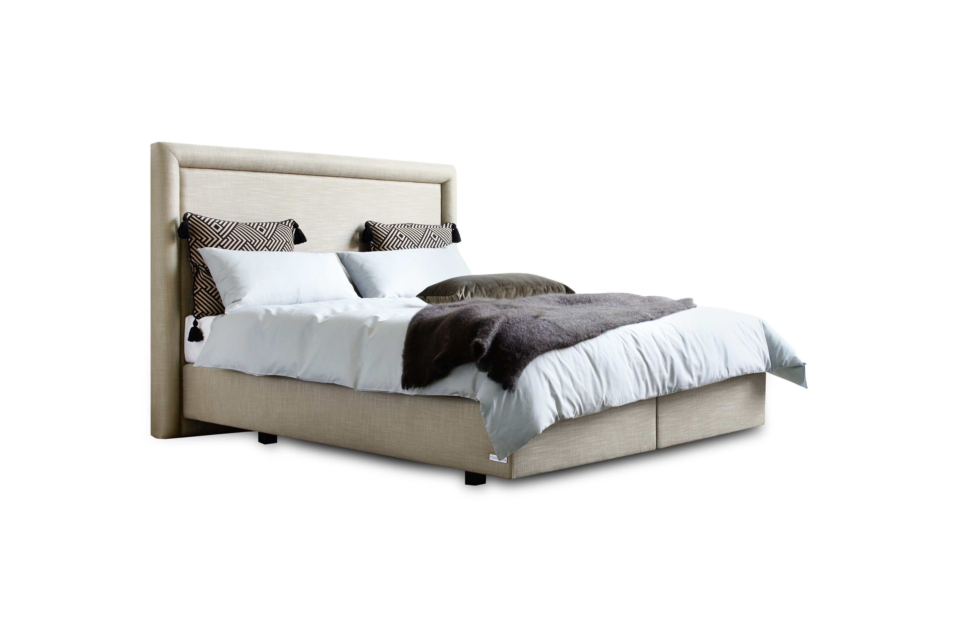 boxspringbett ottello von schlaraffia in sand m bel letz ihr online shop. Black Bedroom Furniture Sets. Home Design Ideas