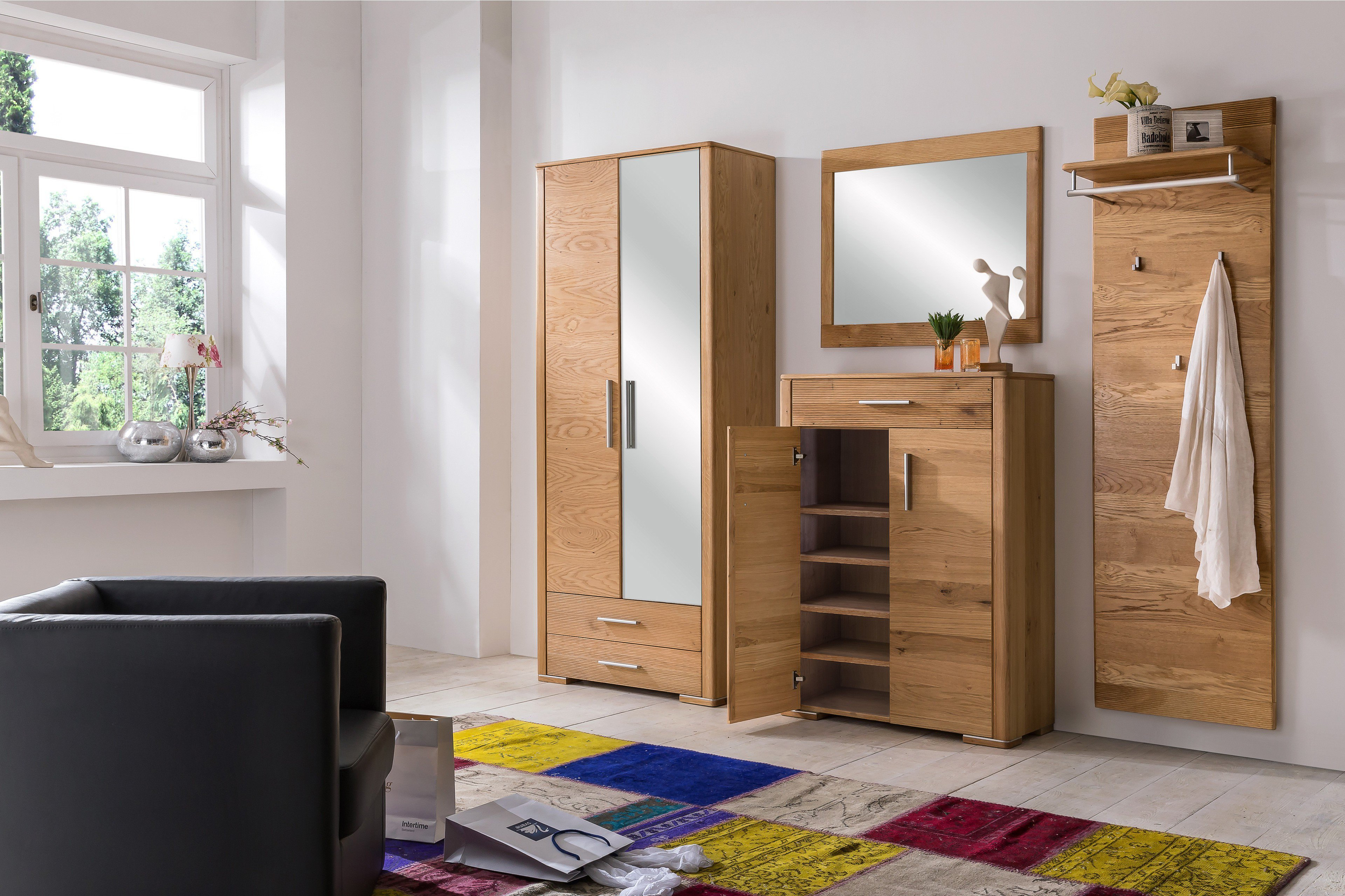 bfk m bel bogota garderobe in wildeiche m bel letz ihr. Black Bedroom Furniture Sets. Home Design Ideas