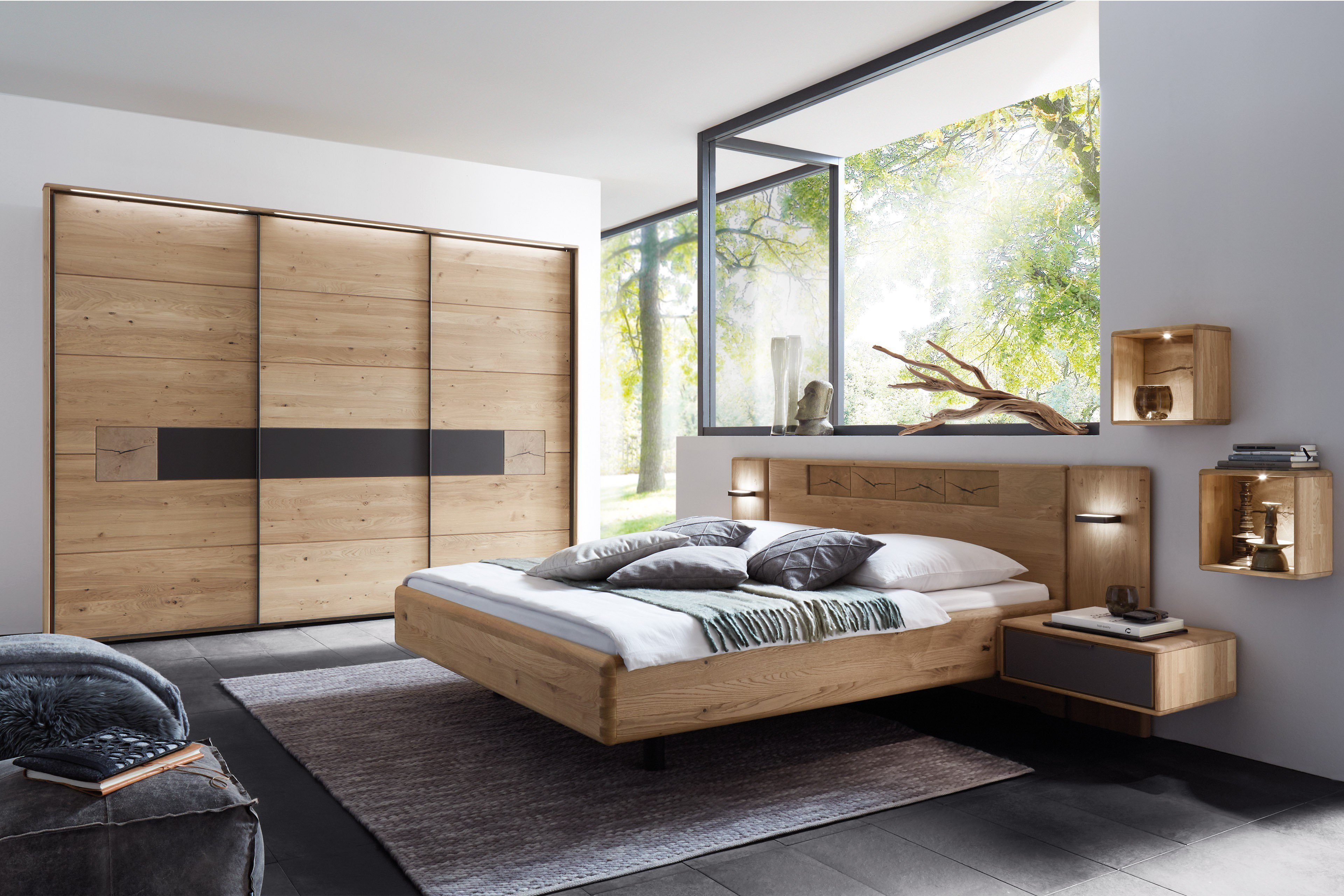 wsm 1600 w stmann schlafzimmer m bel wildeiche m bel. Black Bedroom Furniture Sets. Home Design Ideas