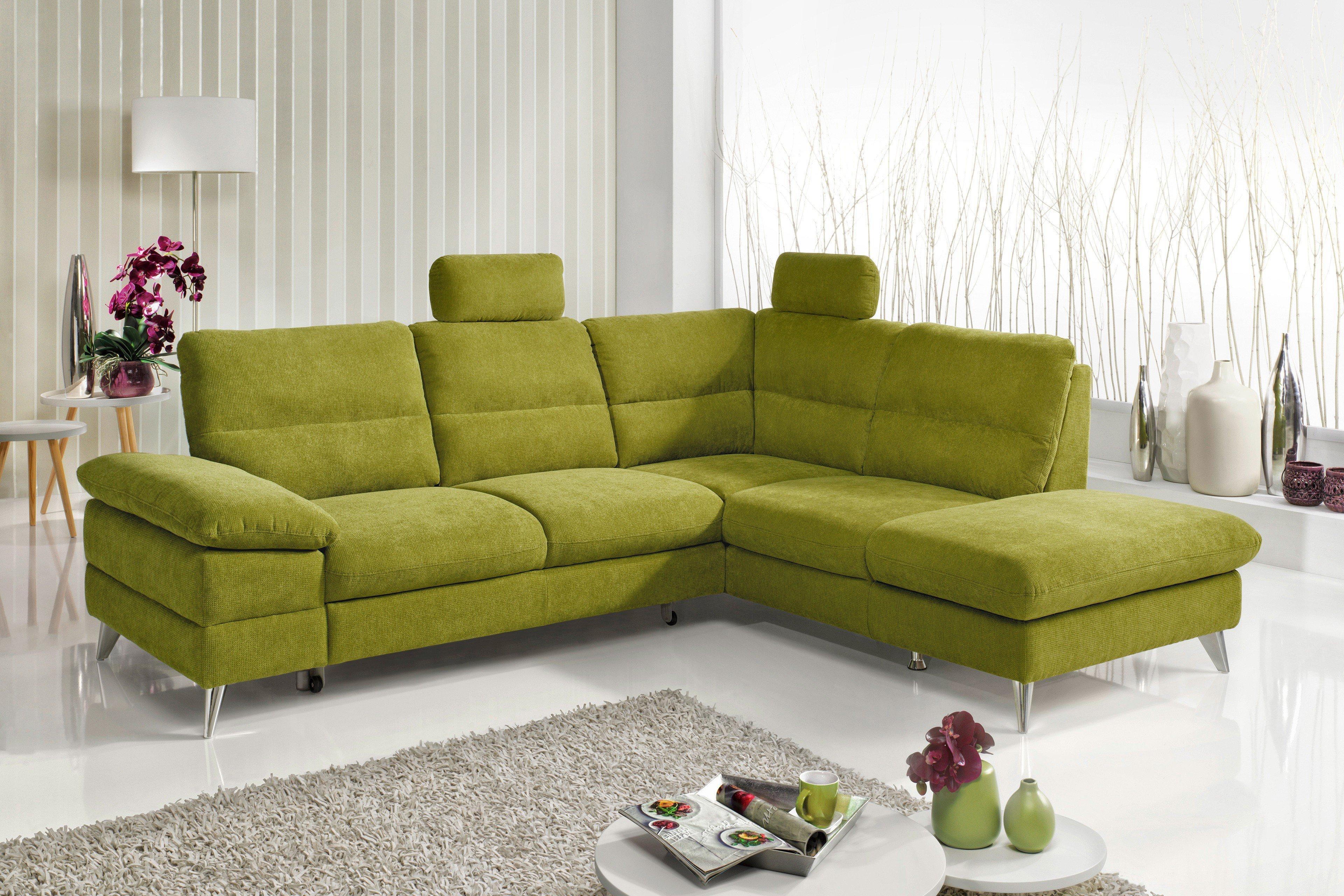 cotta ella eckgarnitur in gr n m bel letz ihr online shop. Black Bedroom Furniture Sets. Home Design Ideas
