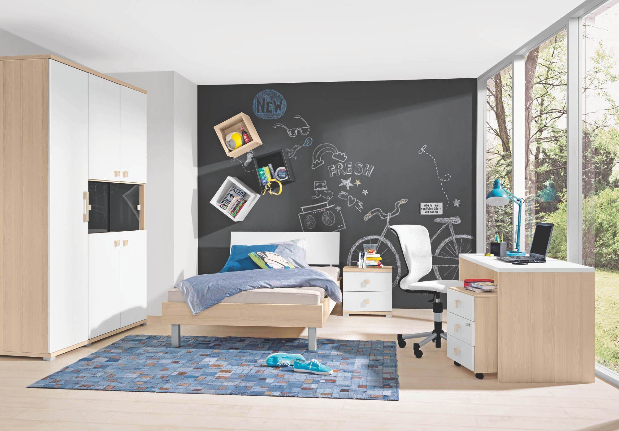 jugendm bel unlimited von welle schrank liege m bel. Black Bedroom Furniture Sets. Home Design Ideas