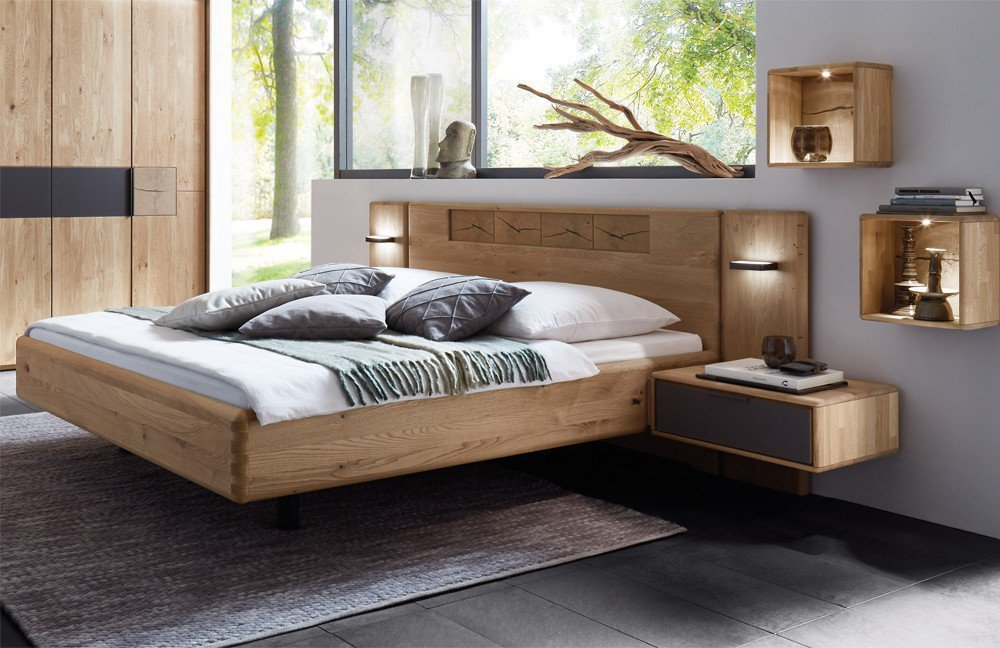 w stmann wsm 1600 bett wildeiche massiv m bel letz ihr online shop. Black Bedroom Furniture Sets. Home Design Ideas