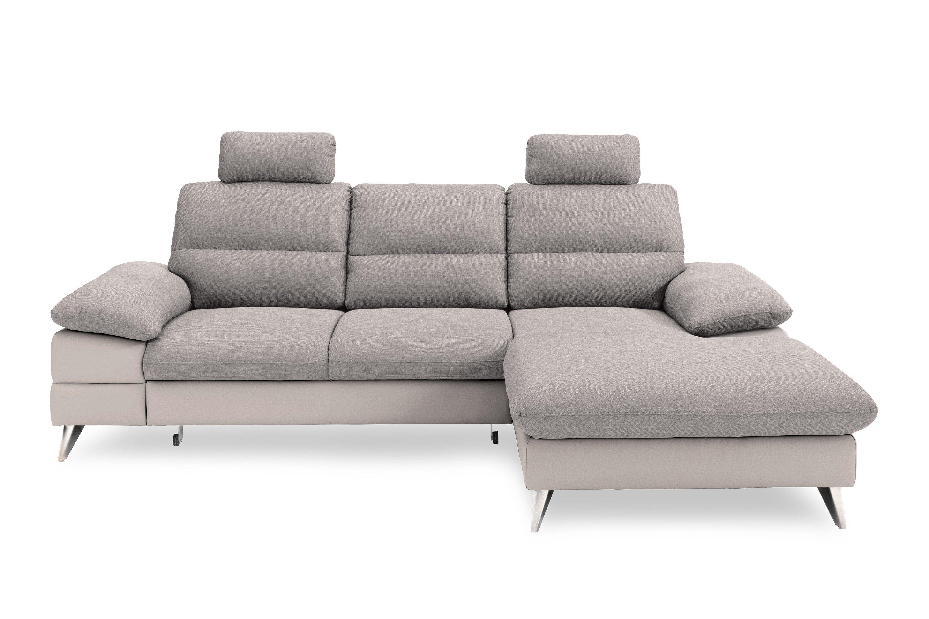 cotta ella polstergarnitur in grau m bel letz ihr online shop. Black Bedroom Furniture Sets. Home Design Ideas