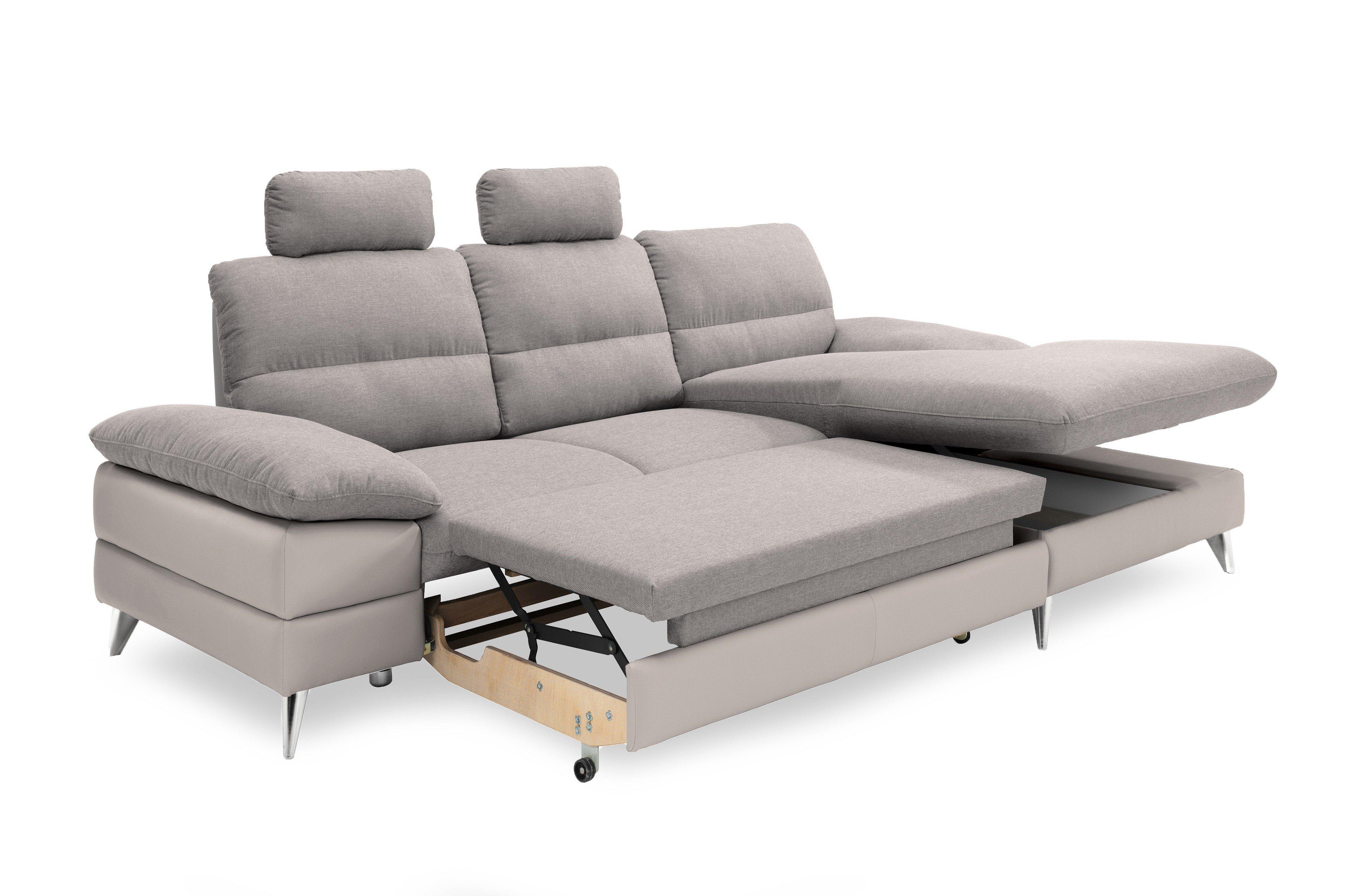 Ella Home Sofa ~ Cotta ella polstergarnitur in grau möbel letz ihr online shop