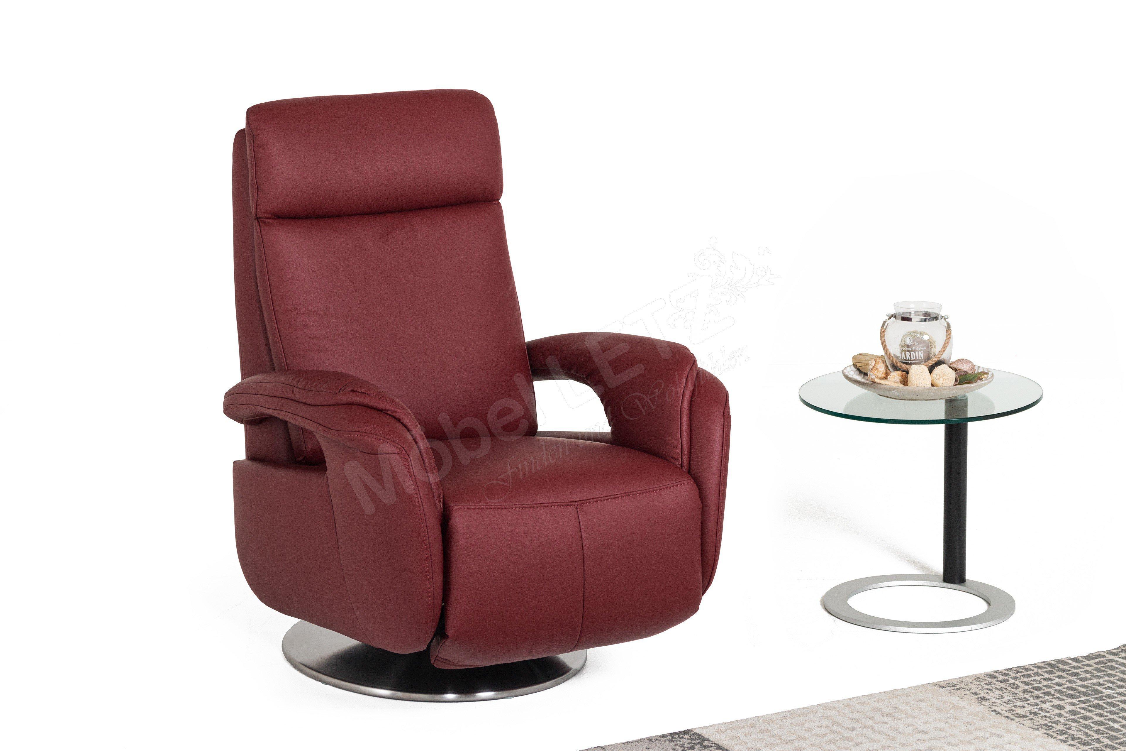 polinova my style l tv sessel weinrot m bel letz ihr online shop. Black Bedroom Furniture Sets. Home Design Ideas