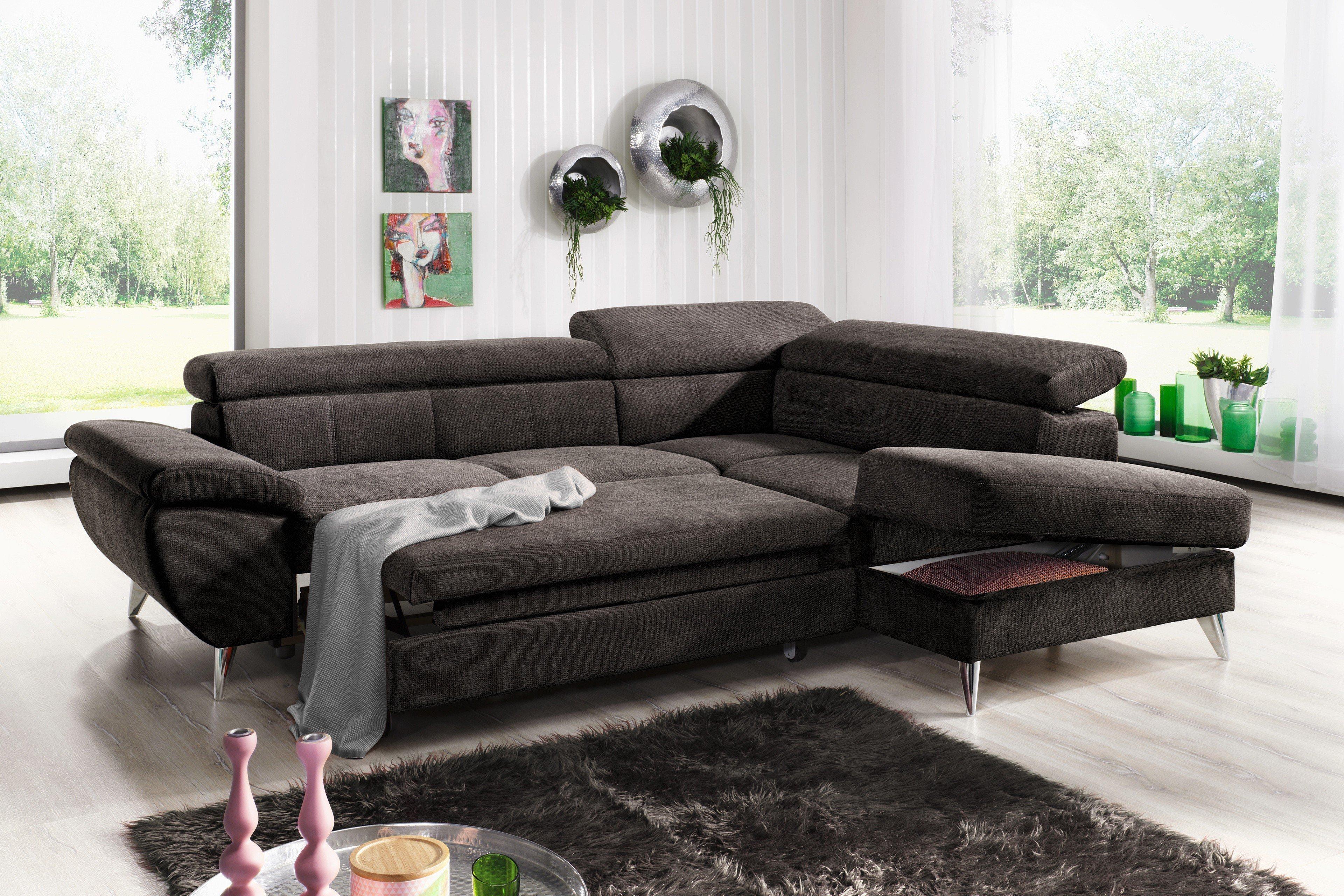 cotta finca eckgarnitur in dunkelbraun m bel letz ihr online shop. Black Bedroom Furniture Sets. Home Design Ideas