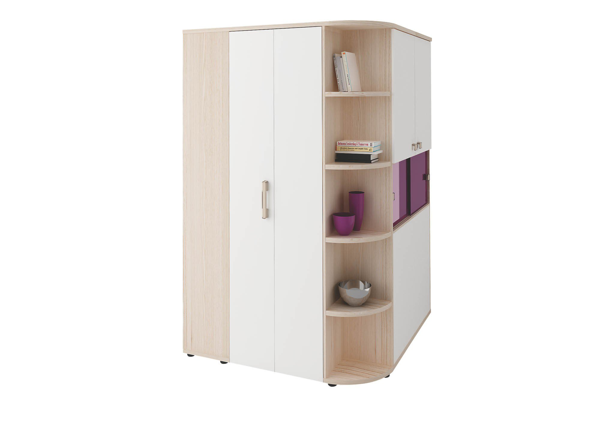 welle unlimited eck kleiderschrank begehbar m bel letz ihr online shop. Black Bedroom Furniture Sets. Home Design Ideas