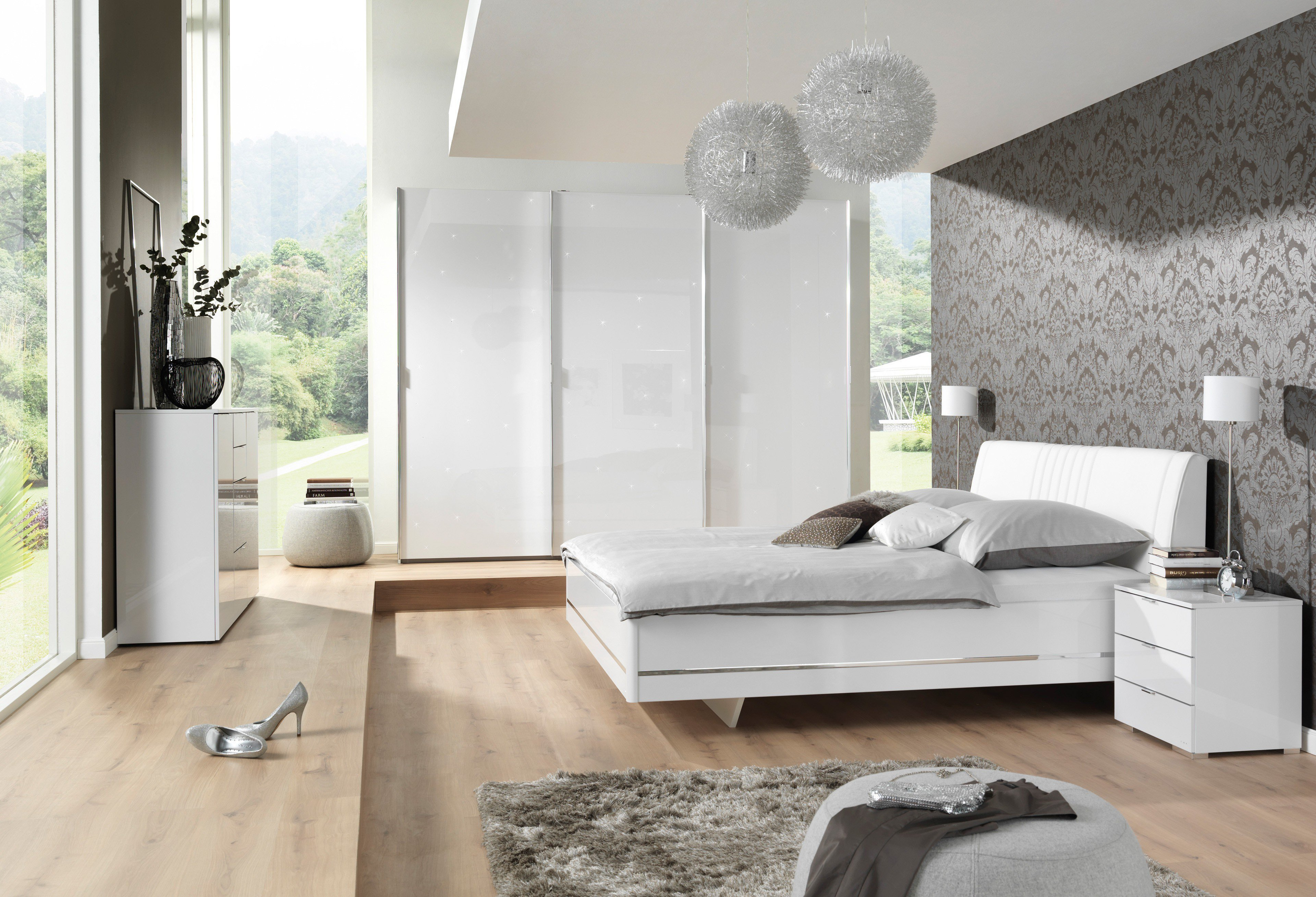 glamour von wellem bel schlafzimmer sternenhimmel m bel. Black Bedroom Furniture Sets. Home Design Ideas