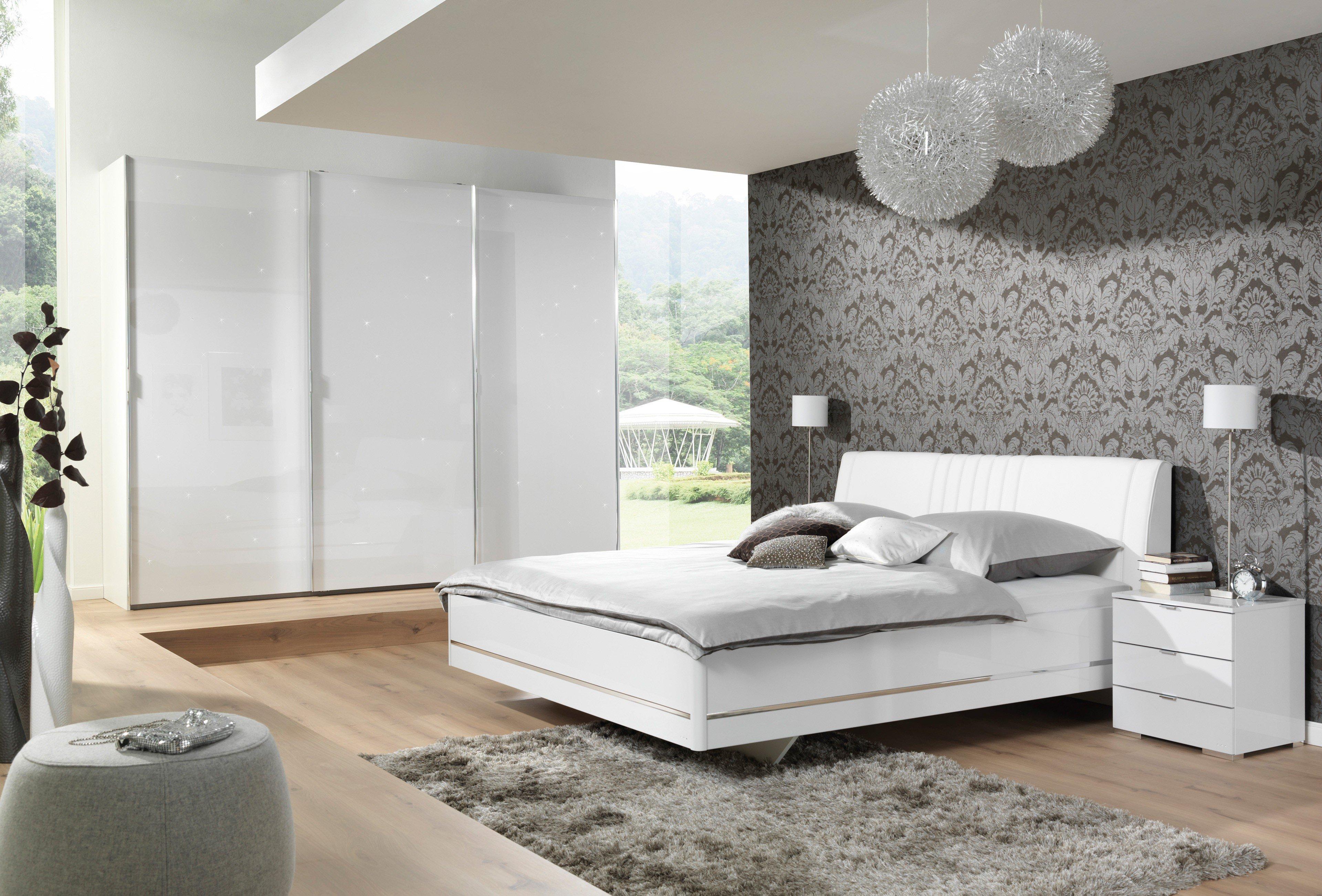 Amazing Glamour Von Wellemöbel   Schlafzimmer Mit Sternenhimmel   Weiß Idea