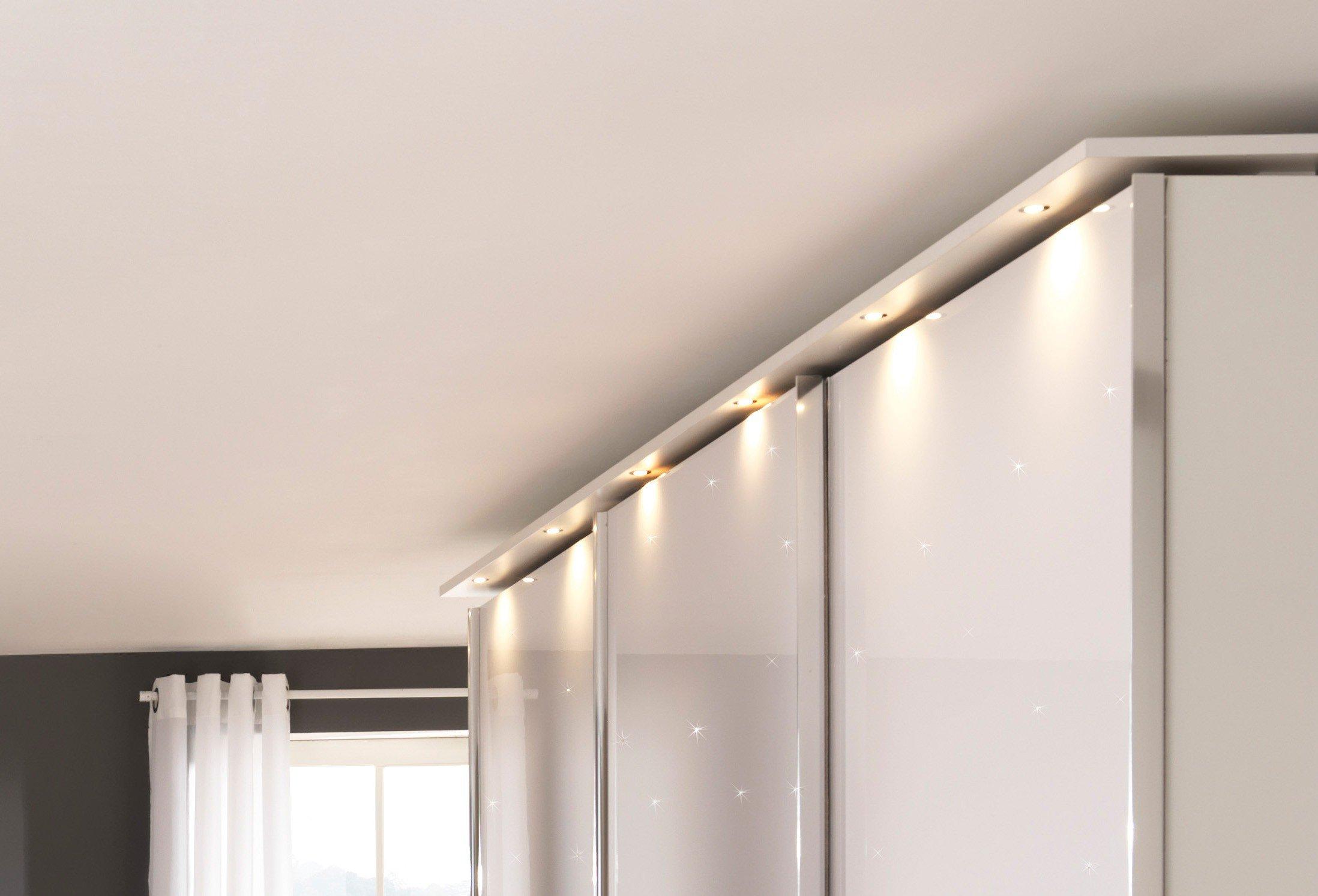 Glamour Von Wellemöbel   Schlafzimmer Mit Sternenhimmel   Weiß