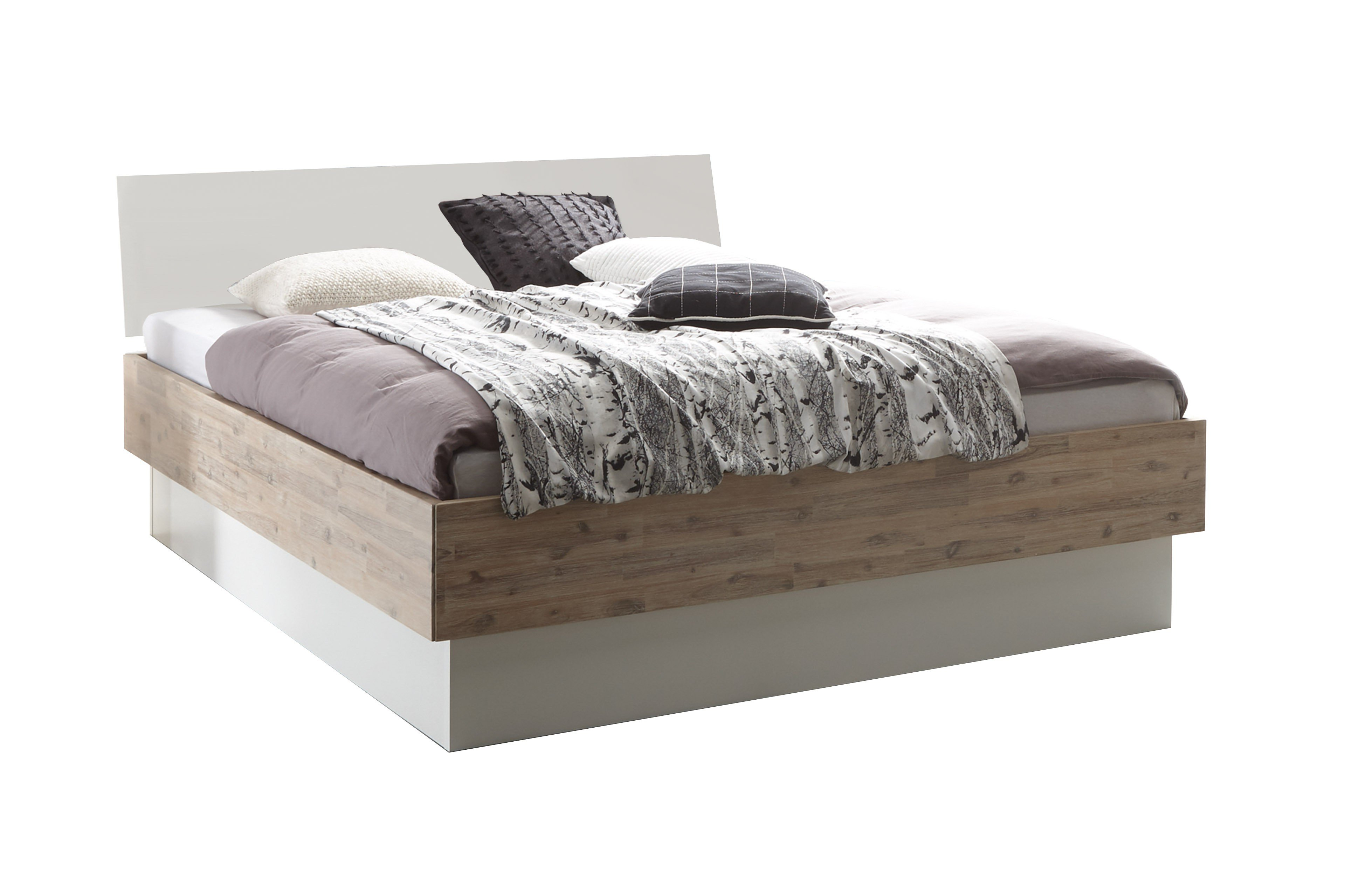 Bezaubernd Doppelbett Mit Bettkasten Referenz Von Factory-chic Von Hasena - Bett Practico