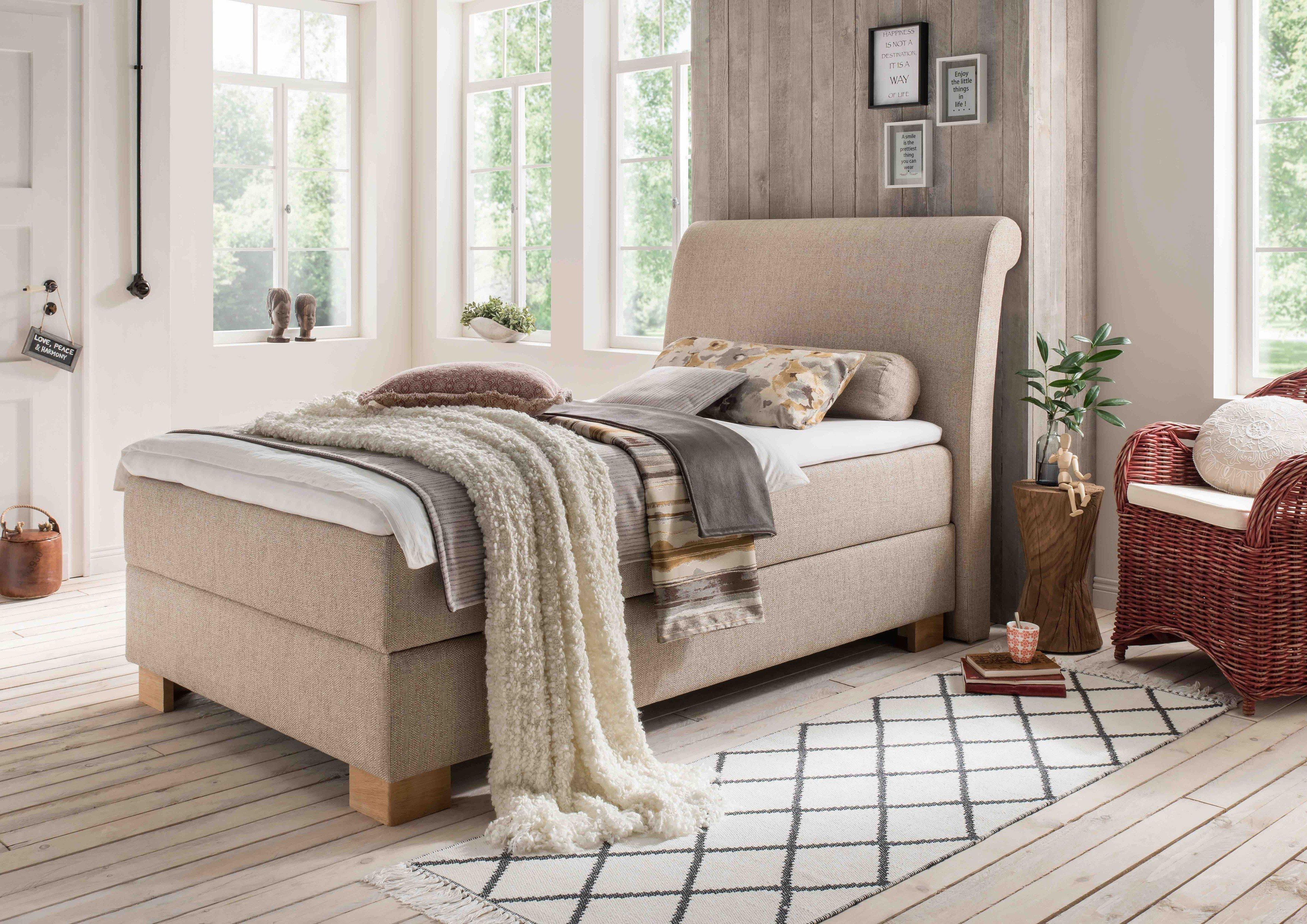 otten boxspringbett princesa mit liegefl che ca 90 x 200. Black Bedroom Furniture Sets. Home Design Ideas