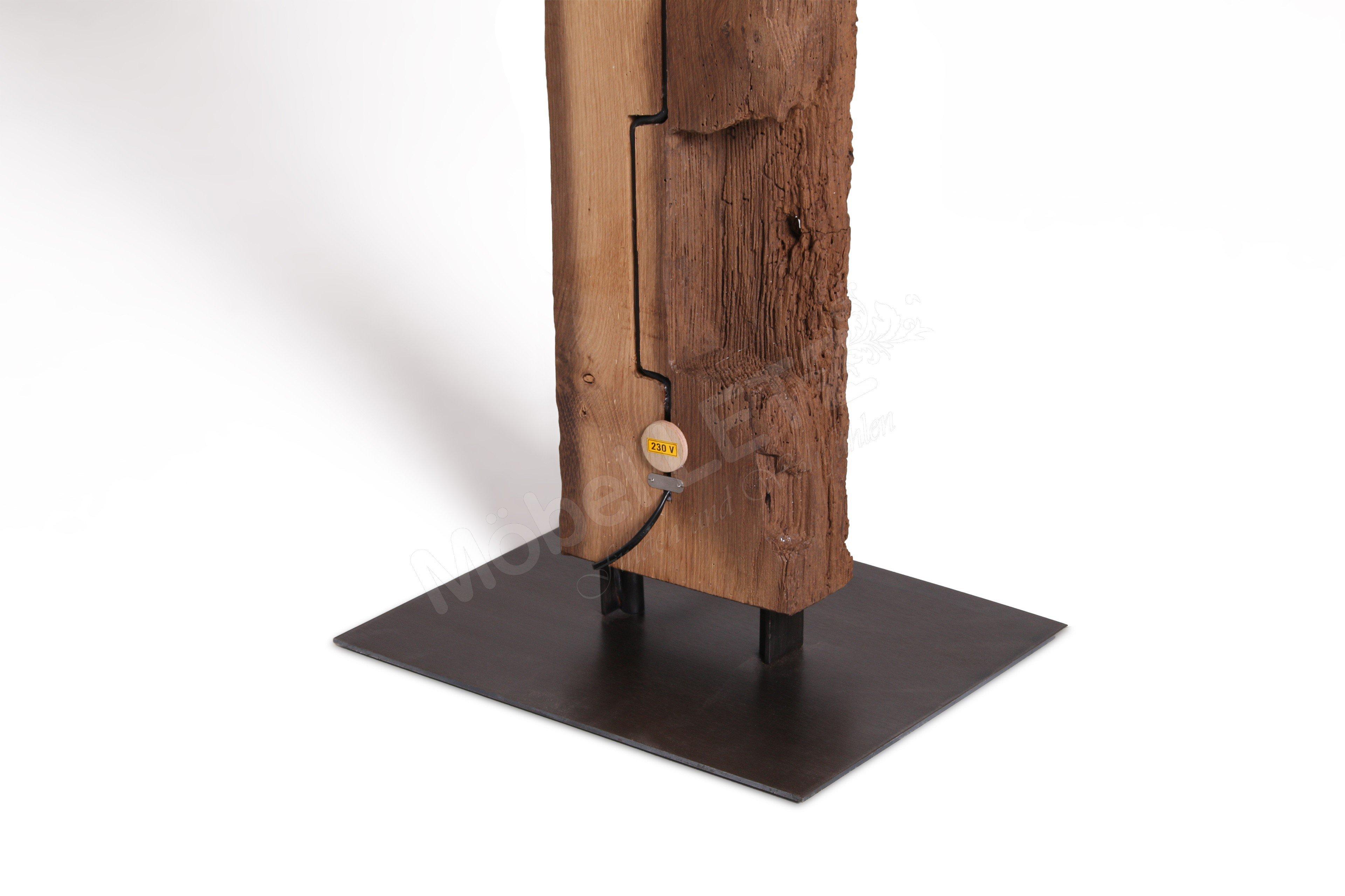 Sprenger Stehlampe Largo 12-35 Holzbalken