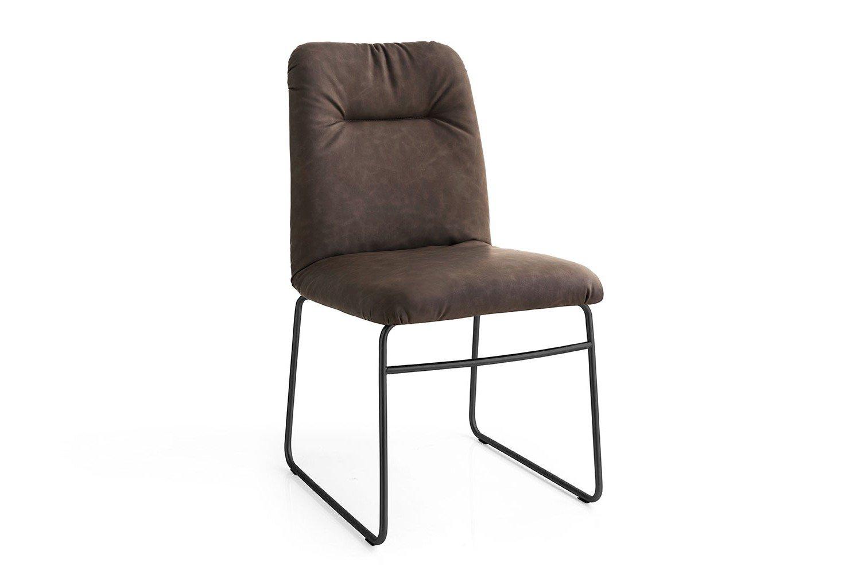 connubia by calligaris stuhl greta ebenholzfarbig schwarz m bel letz ihr online shop. Black Bedroom Furniture Sets. Home Design Ideas