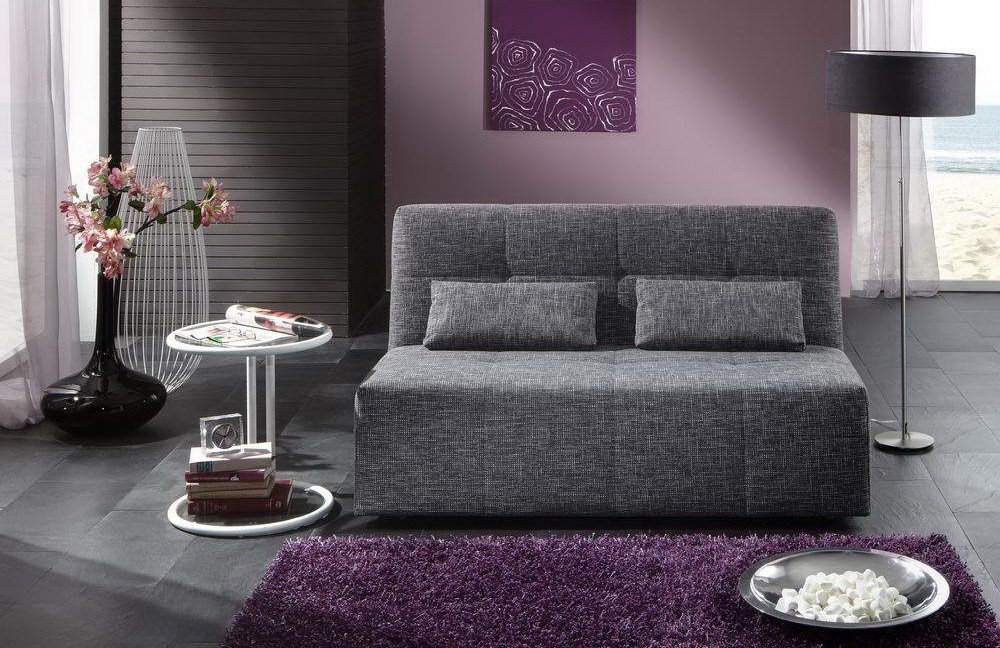 nehl schlafsofa solino mabou in grau m bel letz ihr. Black Bedroom Furniture Sets. Home Design Ideas