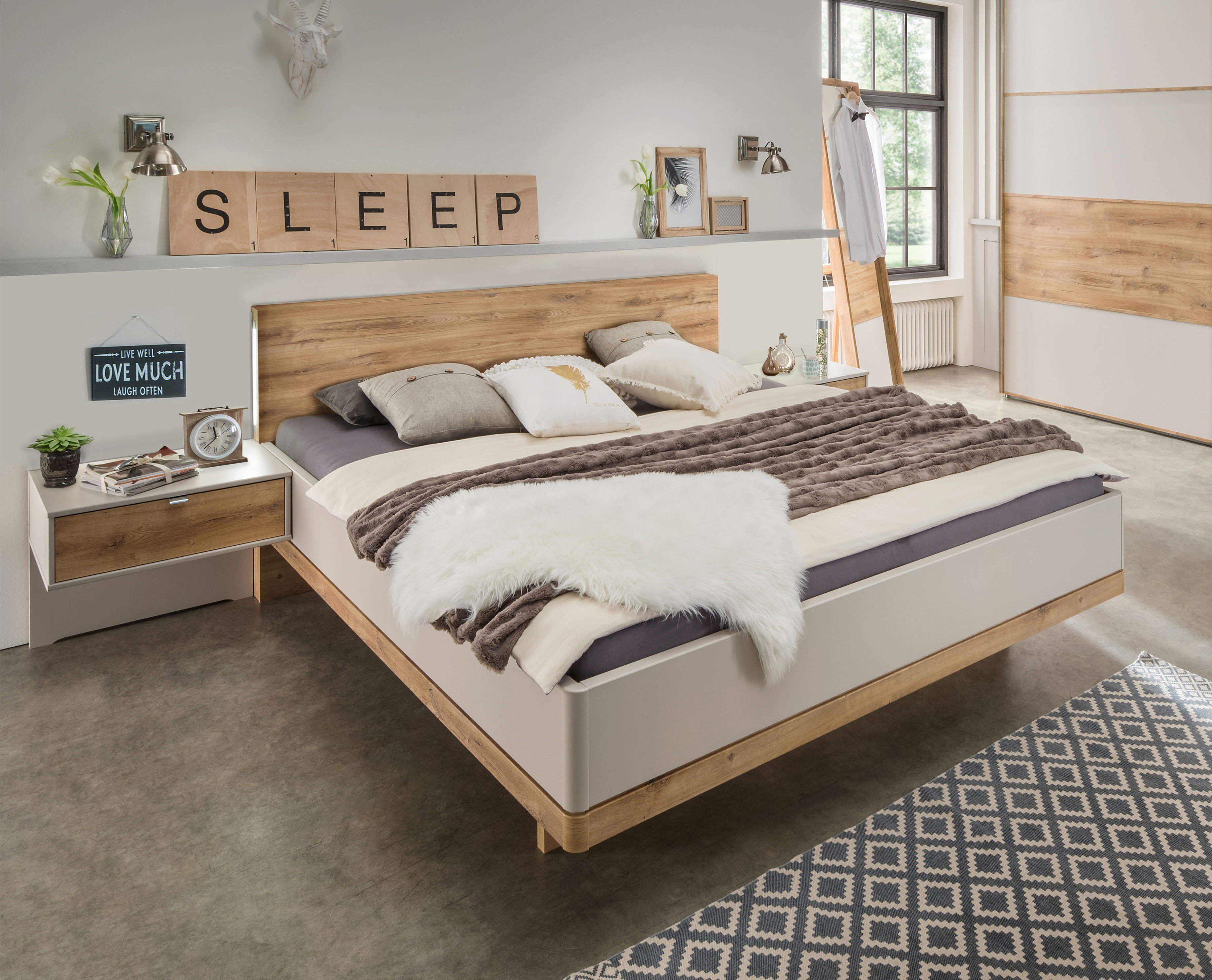 Wiemann Catania Einzelbett 90 x 200 cm | Möbel Letz - Ihr Online-Shop
