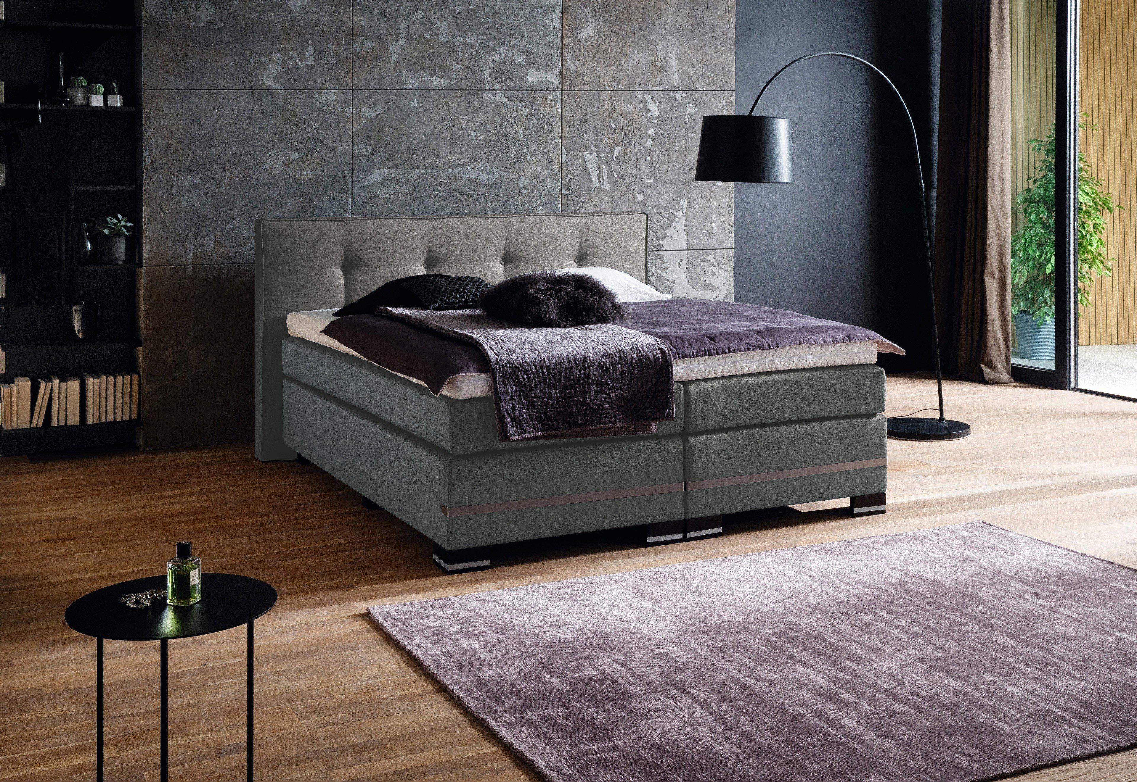 van landschoot boxspringbett anna mit wendematratze. Black Bedroom Furniture Sets. Home Design Ideas