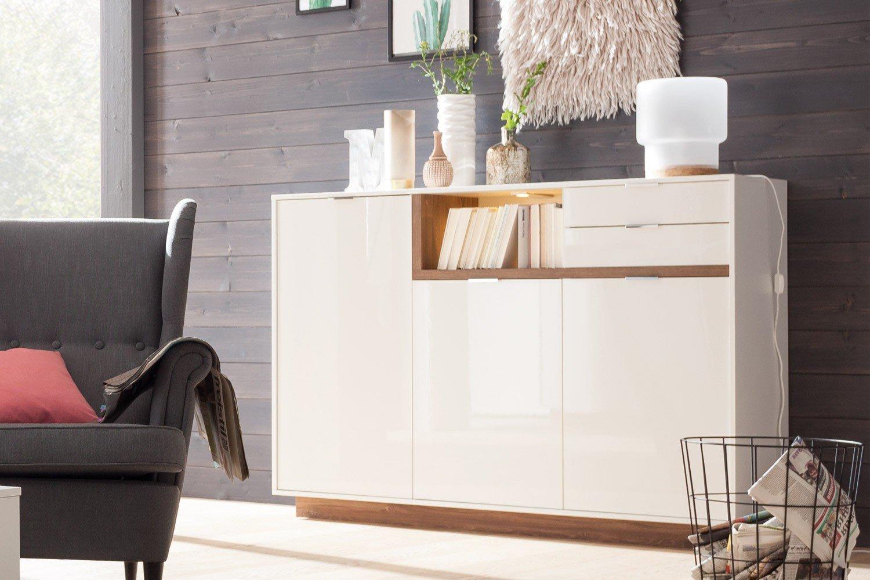 cs schmalm bel lowboard my ell stirling eiche wei m bel letz ihr online shop. Black Bedroom Furniture Sets. Home Design Ideas