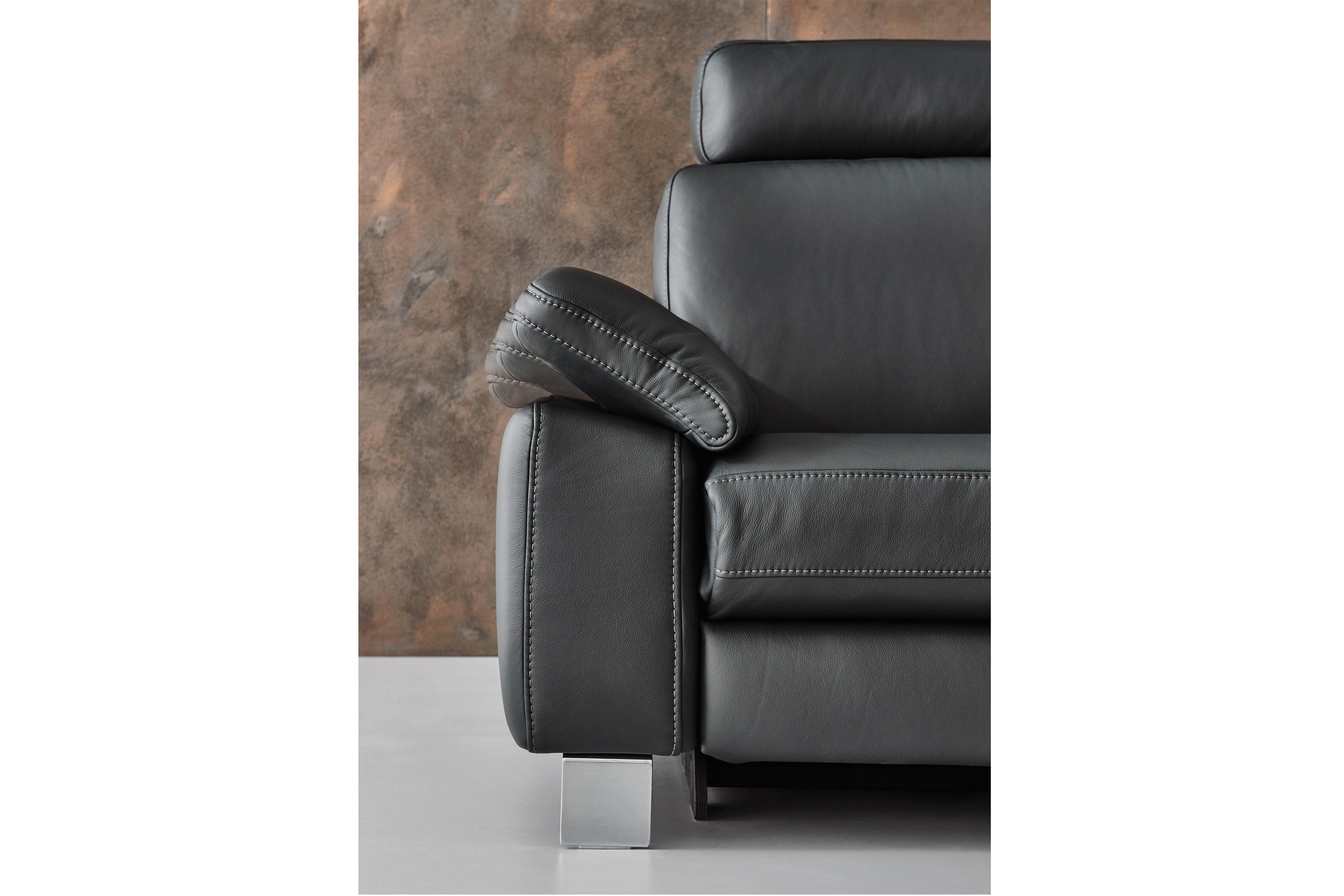 hukla sofastyle wohnlandschaft in schwarz m bel letz ihr online shop. Black Bedroom Furniture Sets. Home Design Ideas
