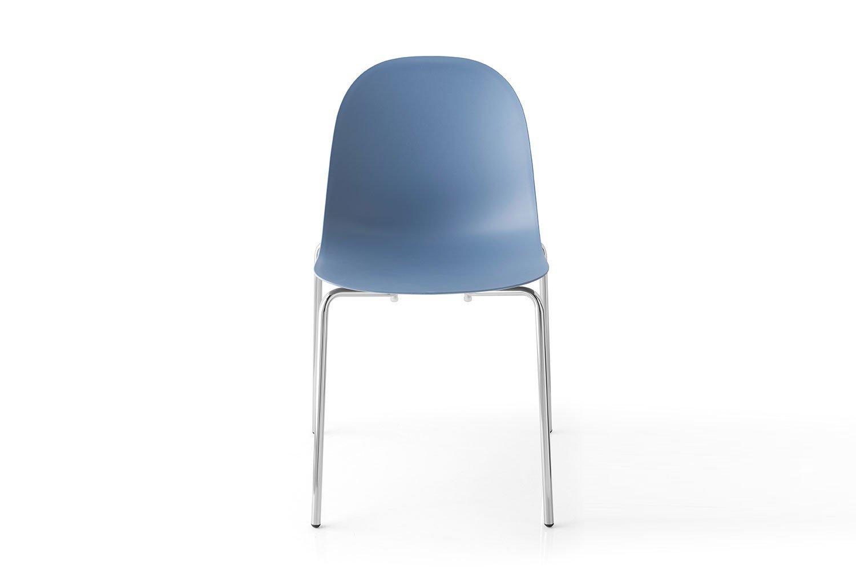 connubia by calligaris stuhl academy sky blue stapelbar. Black Bedroom Furniture Sets. Home Design Ideas
