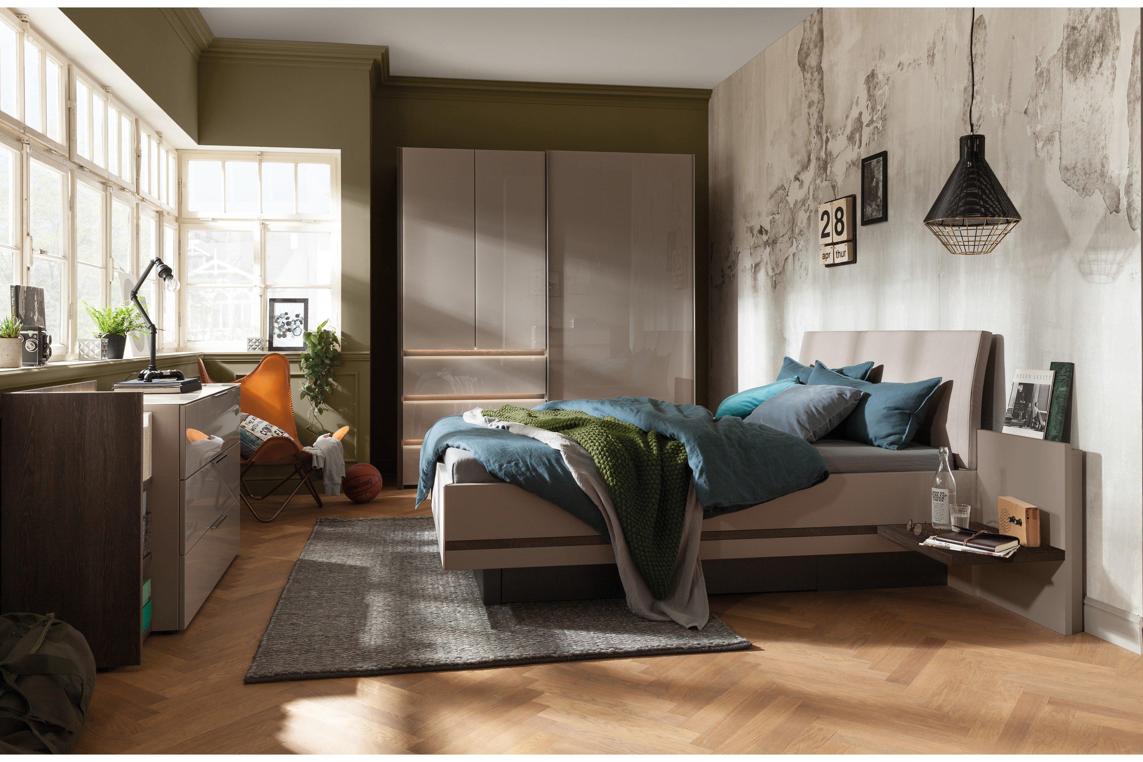 Nolte concept me Schlafzimmer terra-fango | Möbel Letz - Ihr Online-Shop