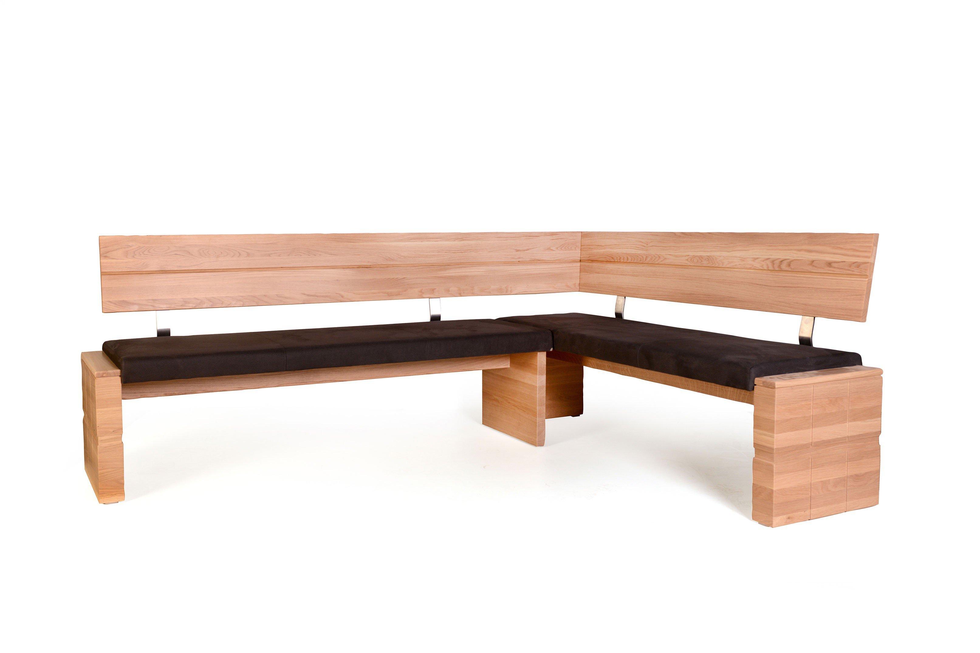Woody Von Standard Furniture   Eckbank Eiche Bianco/ Braun