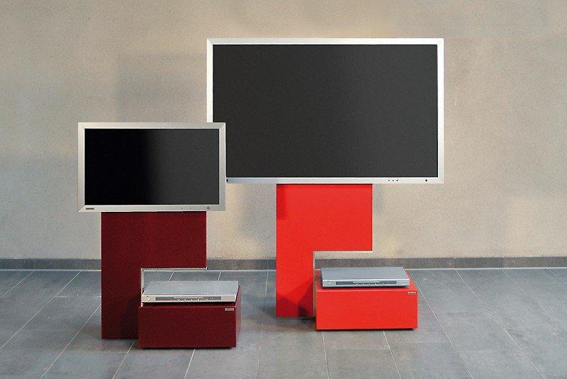 wissmann tv halter move art115 rot m bel letz ihr online shop. Black Bedroom Furniture Sets. Home Design Ideas