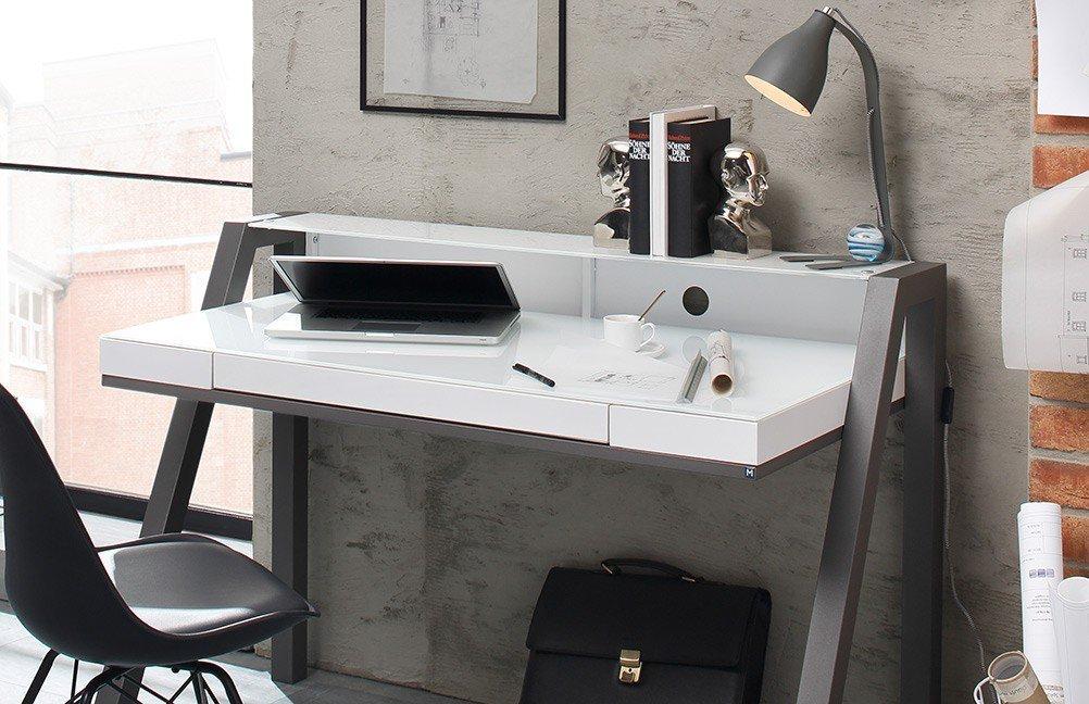 Maja 5014 Schreibtisch weiß| Möbel Letz - Ihr Online-Shop