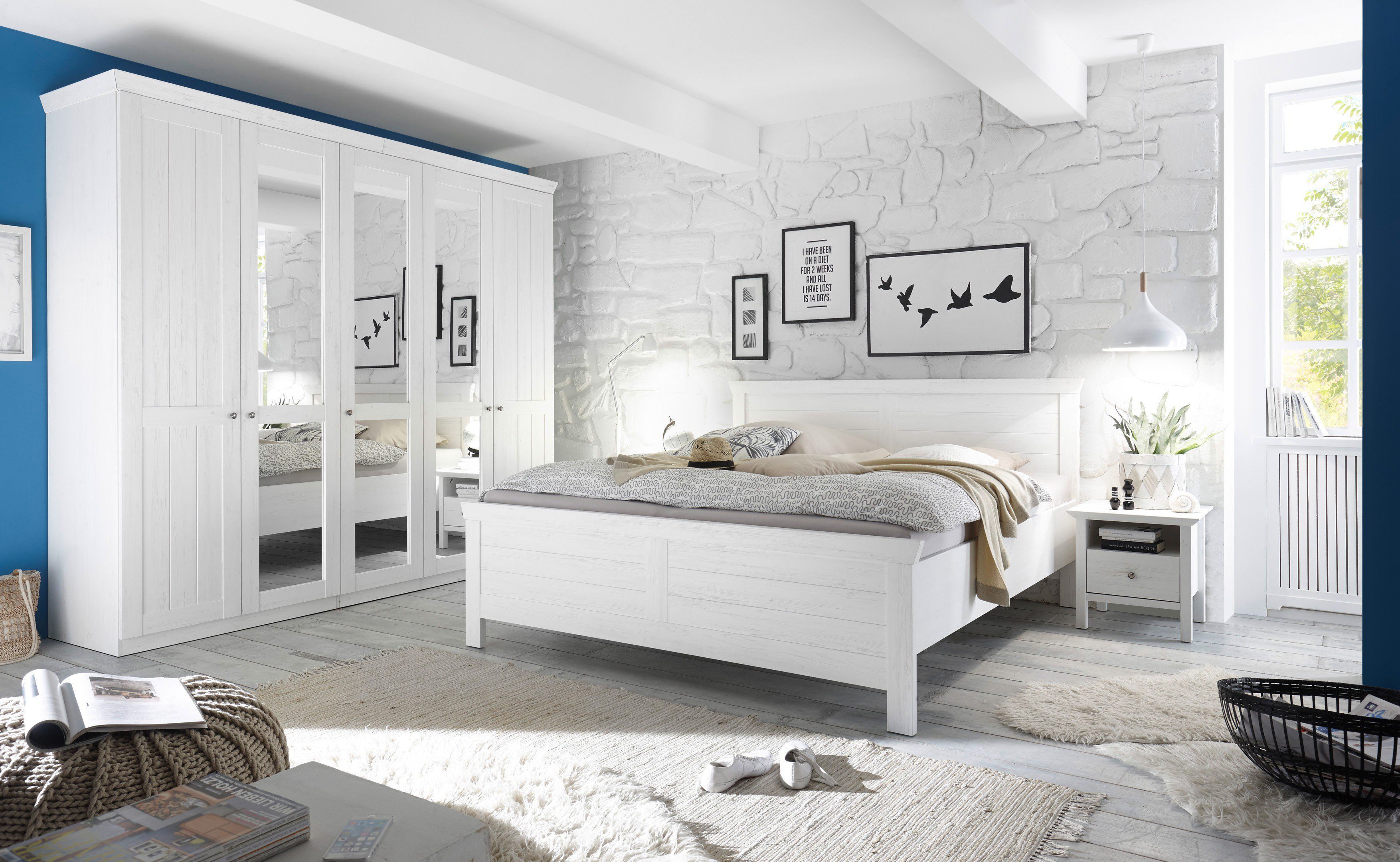 schlafkontor bellevue landhaus schlafzimmer modern m bel letz ihr online shop. Black Bedroom Furniture Sets. Home Design Ideas
