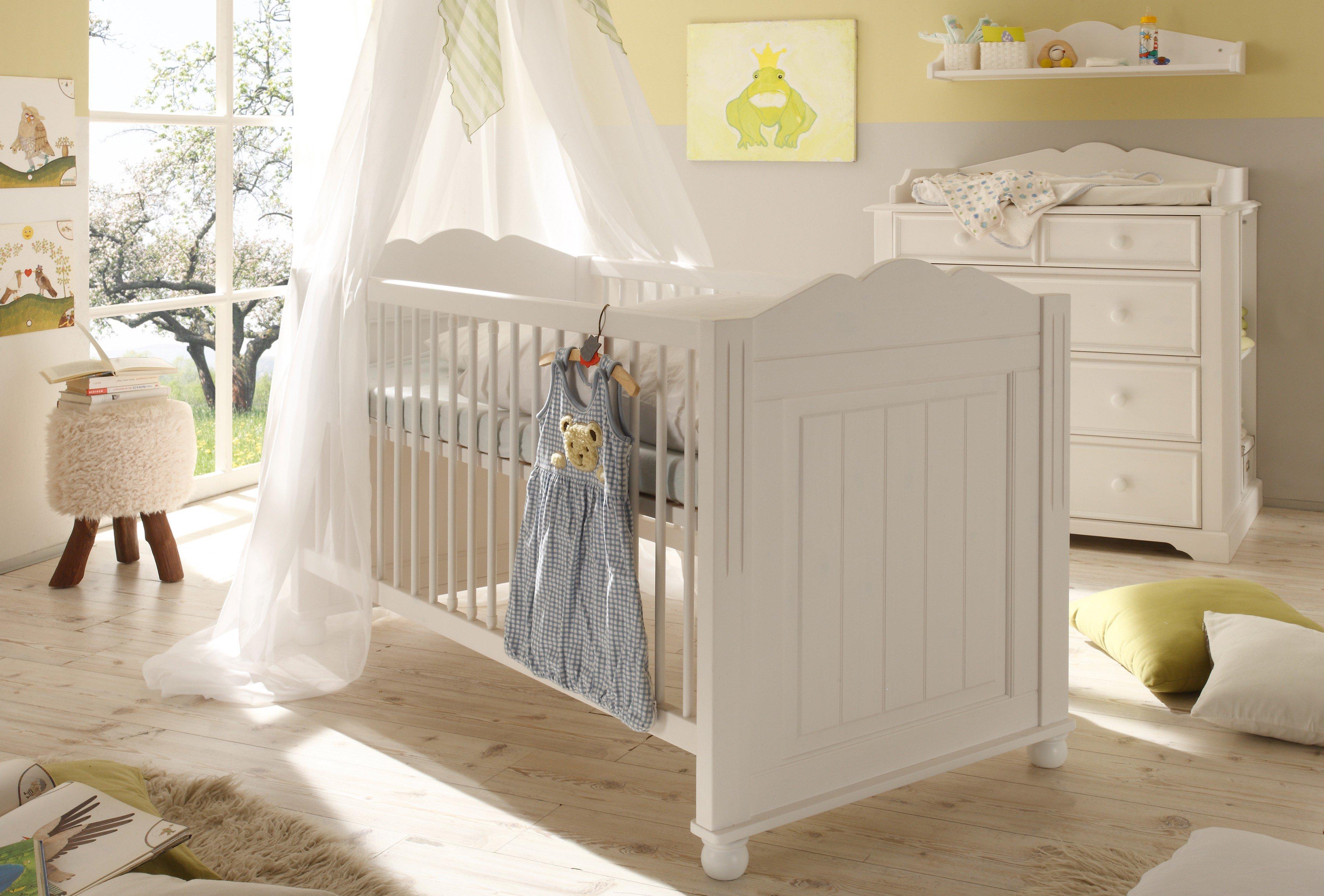 schlafkontor cinderella kinderbett kiefer wei m bel letz ihr online shop. Black Bedroom Furniture Sets. Home Design Ideas