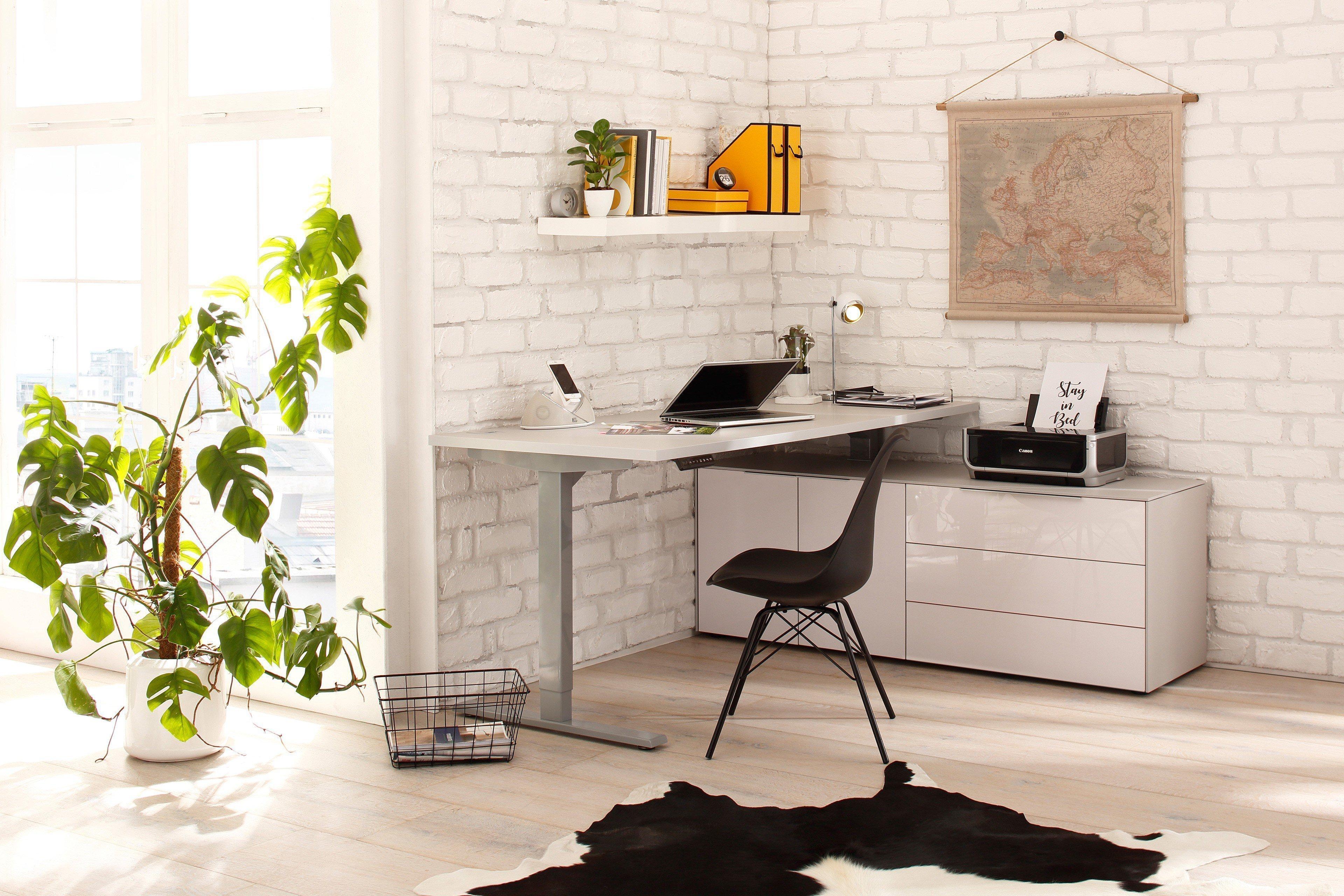 maja edjust schreibtisch h henverstellbar m bel letz ihr online shop. Black Bedroom Furniture Sets. Home Design Ideas