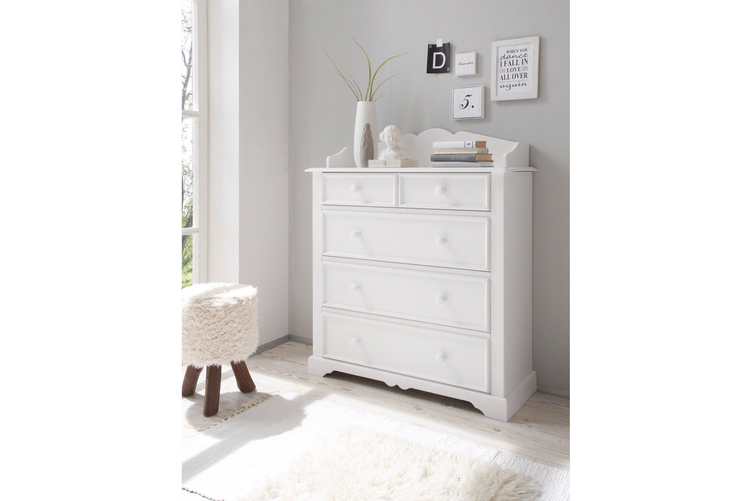 Schlafkontor kommode cinderella landhaus modern m bel letz ihr online shop - Cinderella schlafzimmer ...