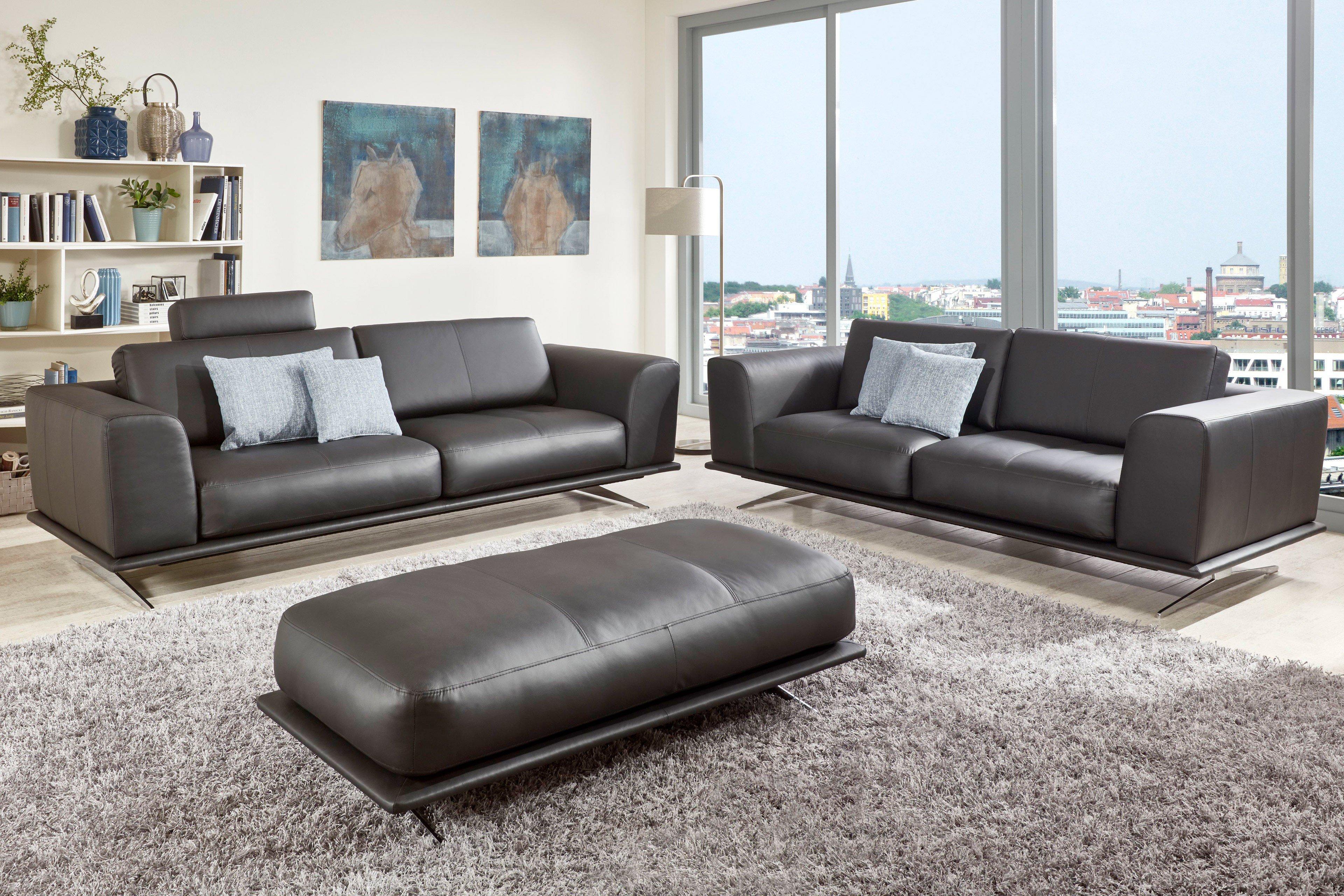 poco polsterm bel veronese polstergarnitur anthrazit m bel letz ihr online shop. Black Bedroom Furniture Sets. Home Design Ideas