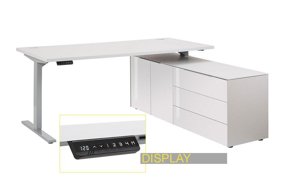 Maja Edjust Schreibtisch Elektrisch Höhenverstellbar Möbel Letz